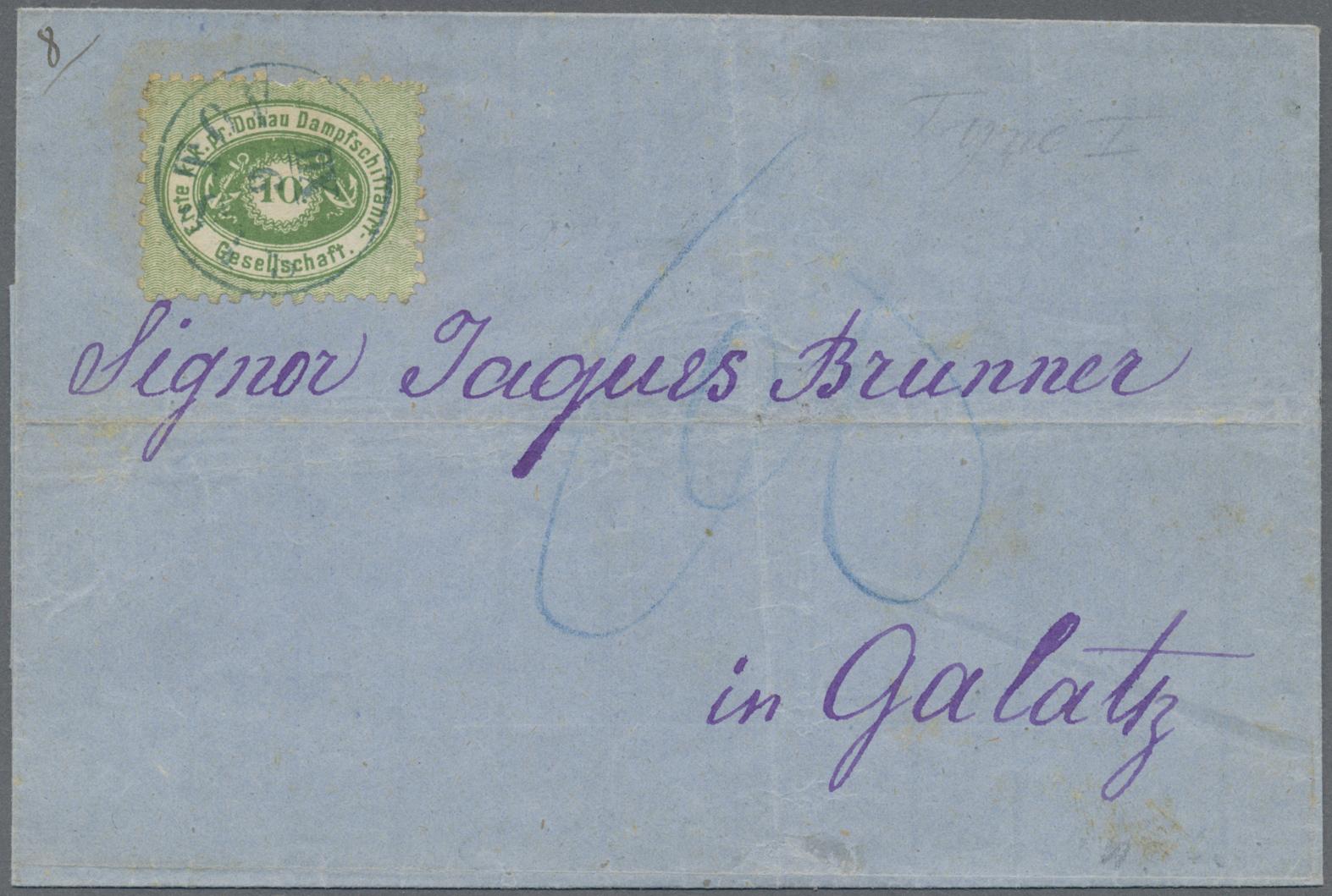 Lot 18195 - Österreich - Donau-Dampfschifffahrtsgesellschaft  -  Auktionshaus Christoph Gärtner GmbH & Co. KG Single lots Philately Overseas & Europe. Auction #39 Day 4