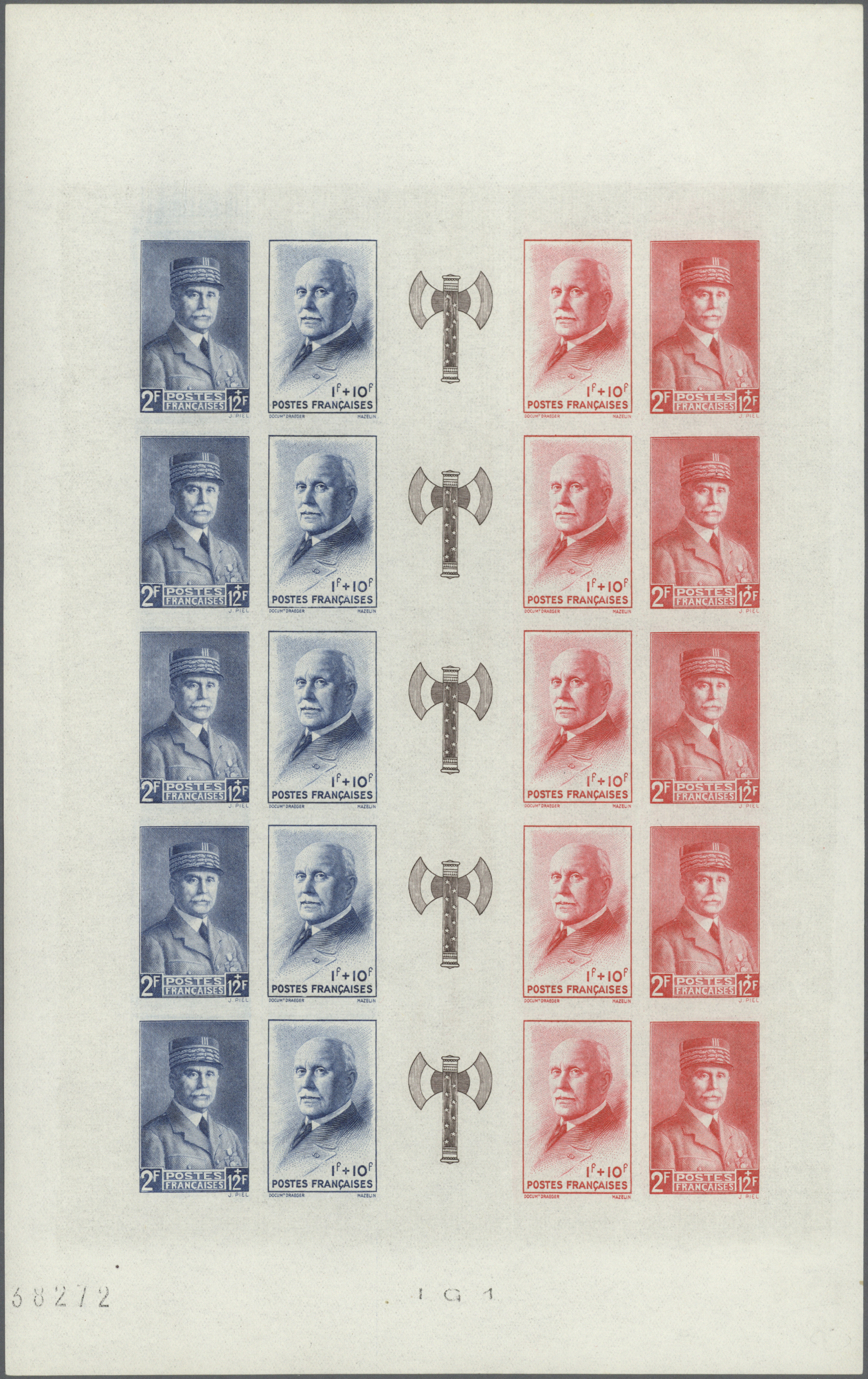 Stamp Auction - frankreich - Europe Auction #42 Day 4, lot 9474