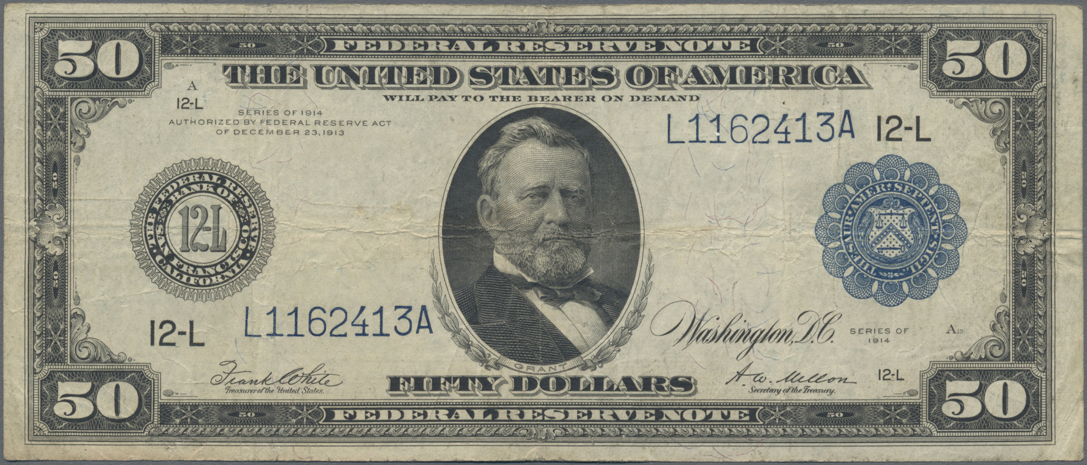 Lot 00907 - United States of America | Banknoten  -  Auktionshaus Christoph Gärtner GmbH & Co. KG Sale #48 The Banknotes
