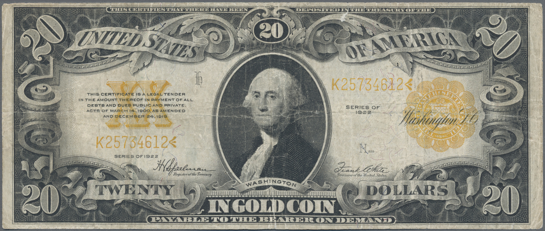 Lot 00904 - United States of America | Banknoten  -  Auktionshaus Christoph Gärtner GmbH & Co. KG Sale #48 The Banknotes