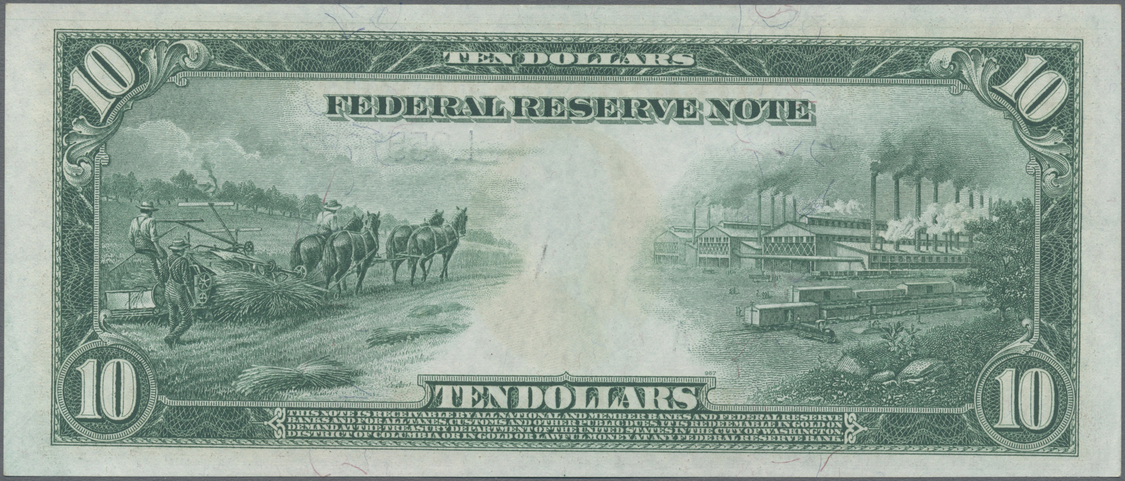 Lot 00906 - United States of America | Banknoten  -  Auktionshaus Christoph Gärtner GmbH & Co. KG Sale #48 The Banknotes