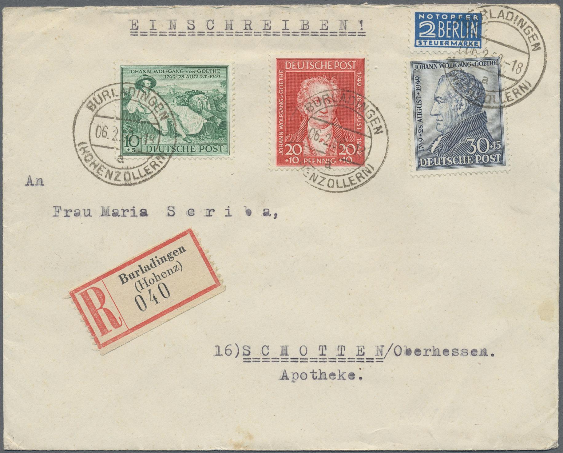 Lot 33507 - bundesrepublik deutschland  -  Auktionshaus Christoph Gärtner GmbH & Co. KG Sale #45- Collections Germany