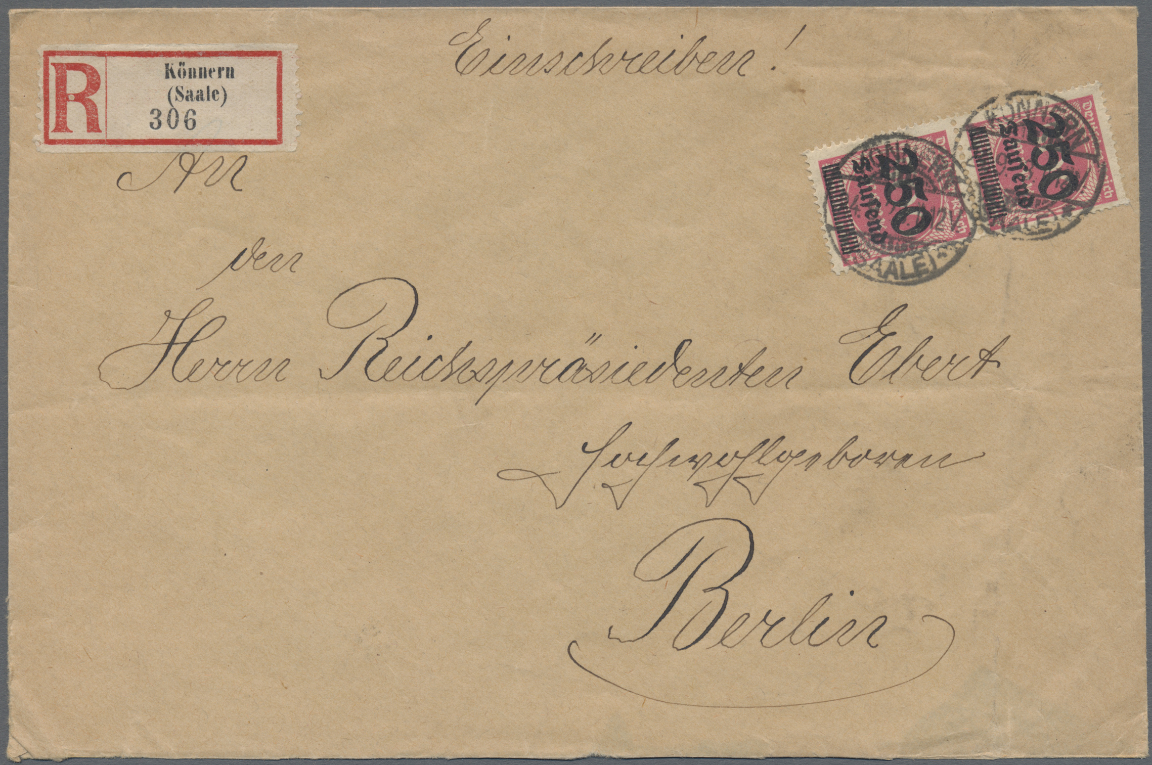 Lot 36623 - Deutsches Reich - Inflation  -  Auktionshaus Christoph Gärtner GmbH & Co. KG Sale #44 Collections Germany