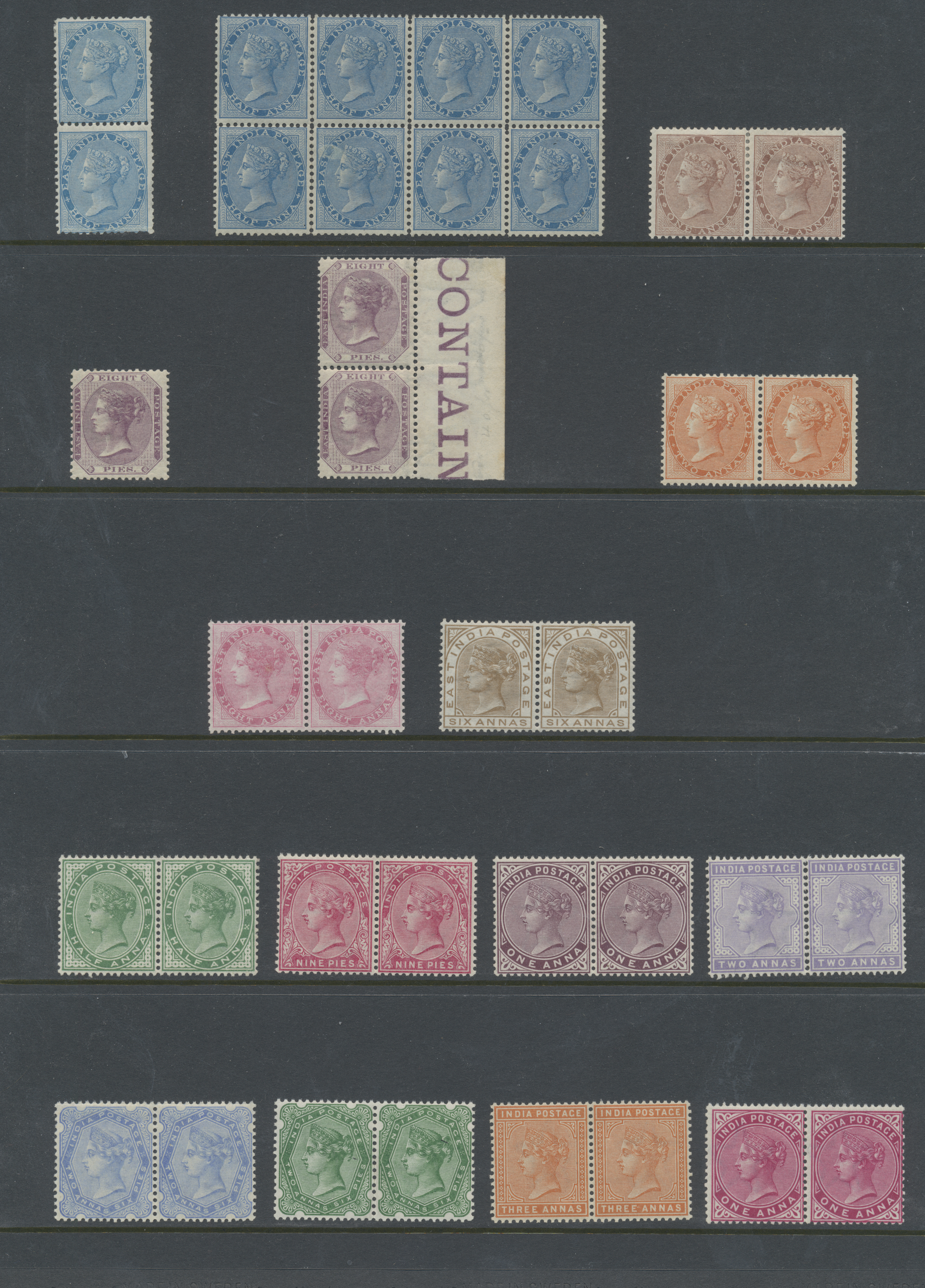 Lot 19178 - indien  -  Auktionshaus Christoph Gärtner GmbH & Co. KG Sale #47 Collections: Overseas, Thematics, Europe