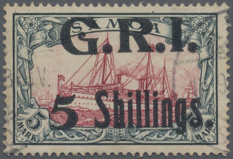 Lot 1303 - Deutsche Kolonien - Samoa - Britische Besetzung  -  Auktionshaus Christoph Gärtner GmbH & Co. KG Auction #41 Special auction part two