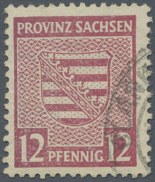 Lot 24139 - Sowjetische Zone - Provinz Sachsen  -  Auktionshaus Christoph Gärtner GmbH & Co. KG Single lots Germany + Picture Postcards. Auction #39 Day 5