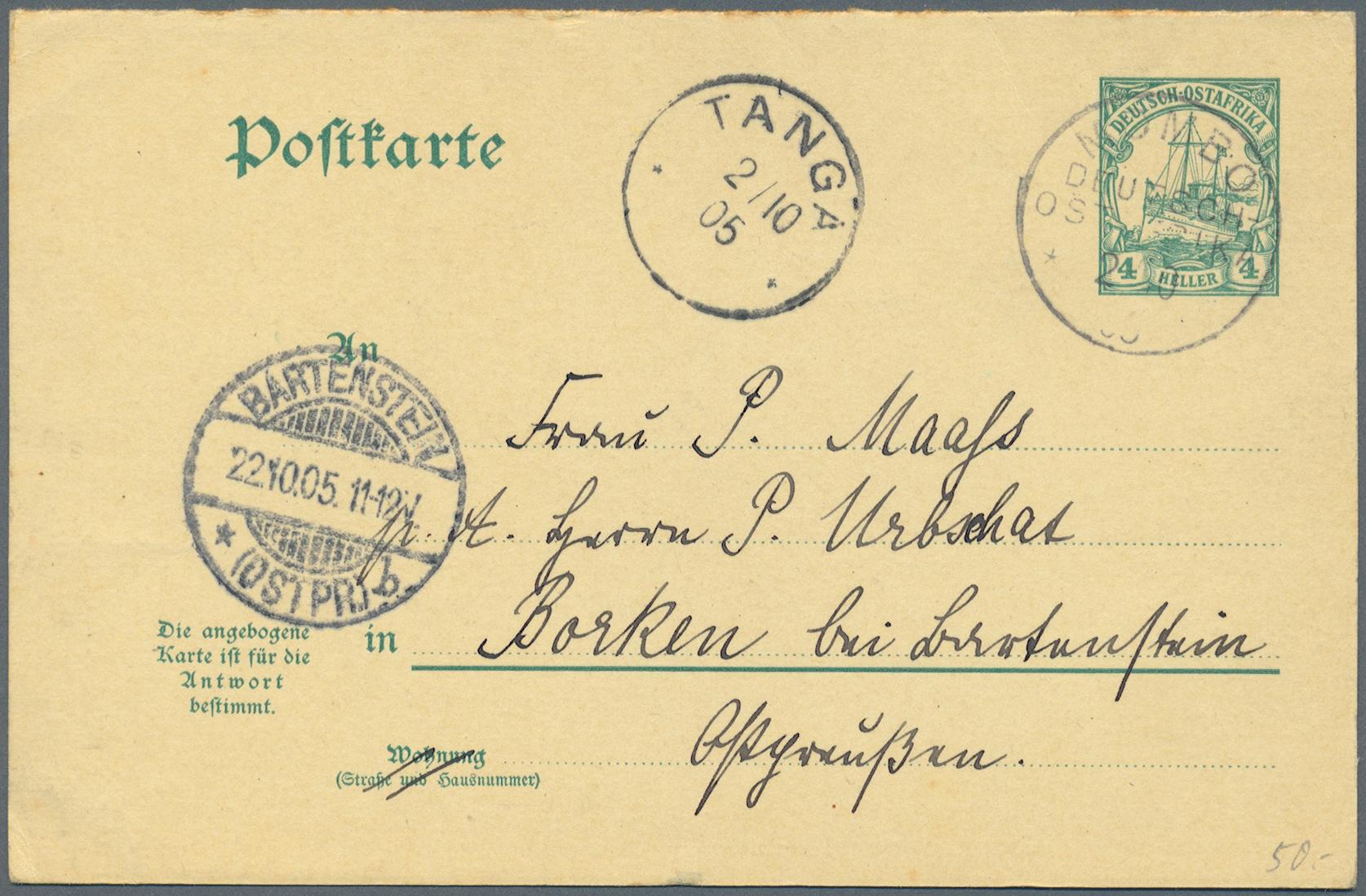 Lot 37204 - Deutsche Auslandspostämter + Kolonien  -  Auktionshaus Christoph Gärtner GmbH & Co. KG Collections Germany,  Collections Supplement, Surprise boxes #39 Day 7