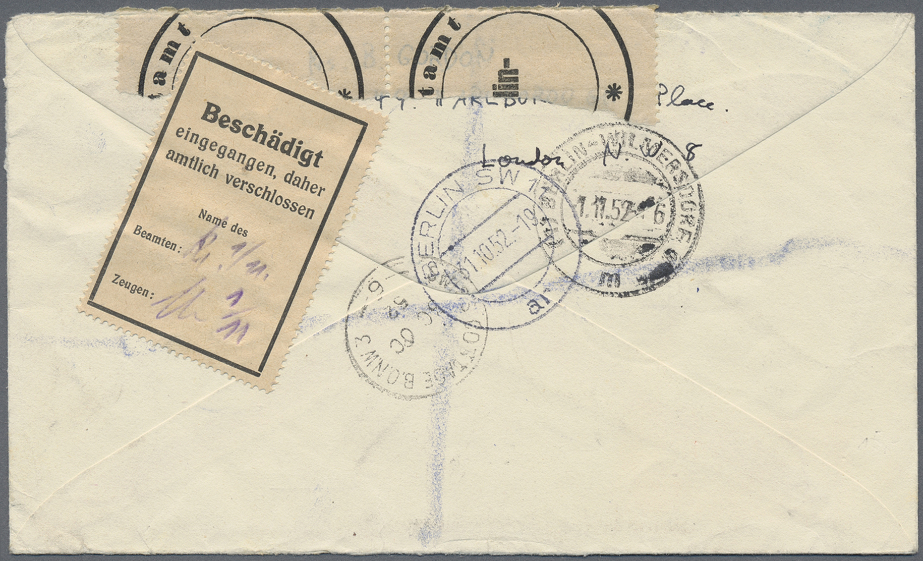 Lot 24859 - Berlin - Besonderheiten  -  Auktionshaus Christoph Gärtner GmbH & Co. KG Single lots Germany + Picture Postcards. Auction #39 Day 5