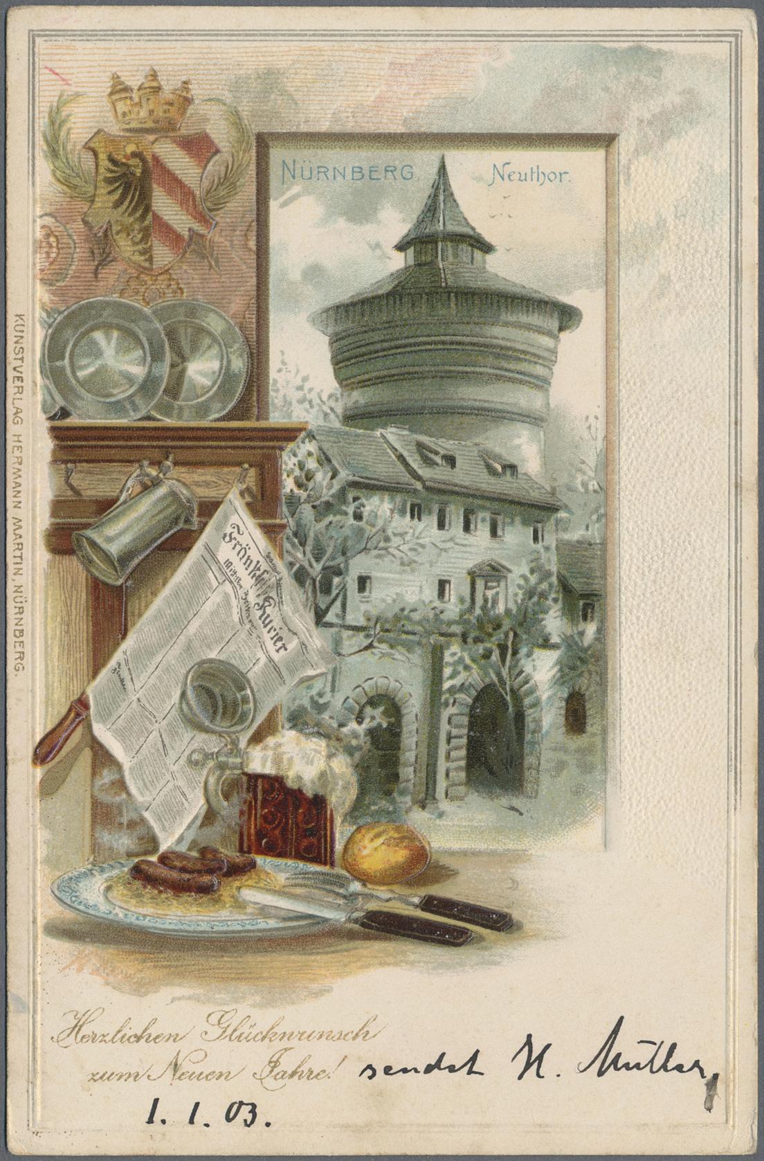 Lot 04409 - Ansichtskarten: Bayern  -  Auktionshaus Christoph Gärtner GmbH & Co. KG Special auction