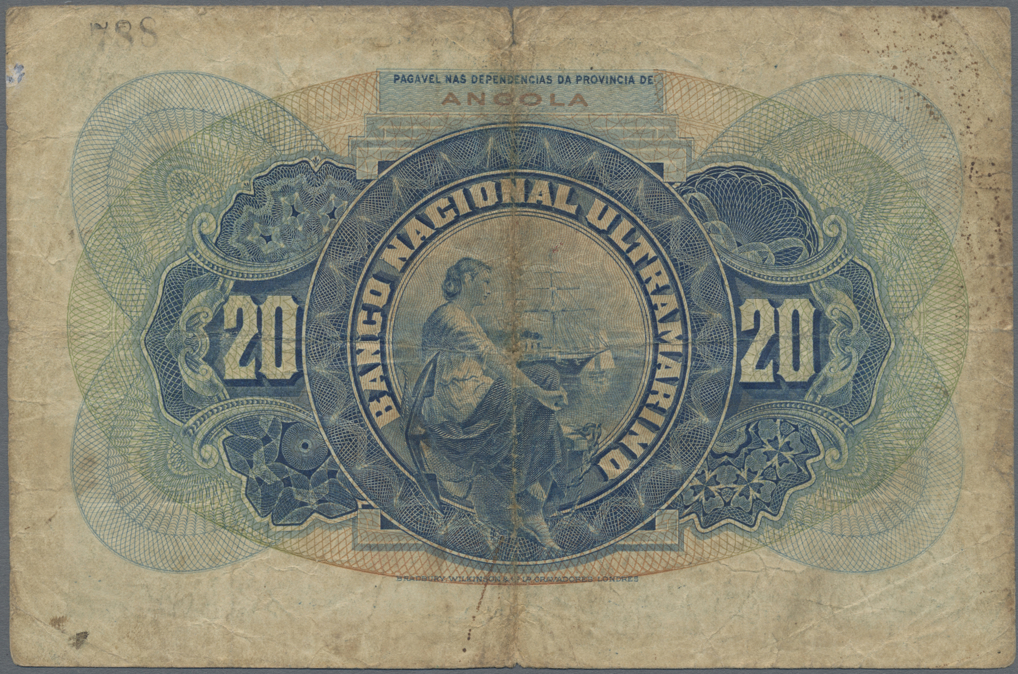 Lot 00013 - Angola | Banknoten  -  Auktionshaus Christoph Gärtner GmbH & Co. KG Sale #48 The Banknotes