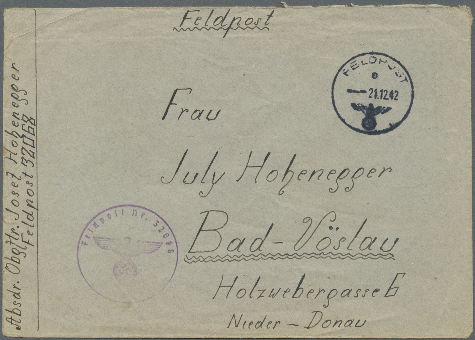 Lot 23630 - feldpost 2. weltkrieg  -  Auktionshaus Christoph Gärtner GmbH & Co. KG Single lots Germany + Picture Postcards. Auction #39 Day 5