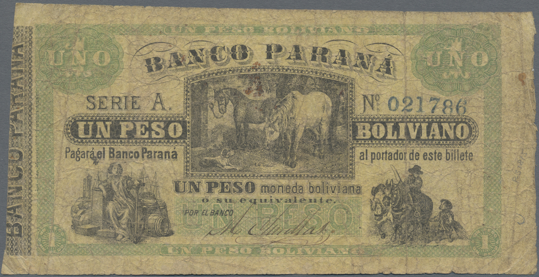 Lot 00020 - Argentina / Argentinien | Banknoten  -  Auktionshaus Christoph Gärtner GmbH & Co. KG Sale #48 The Banknotes