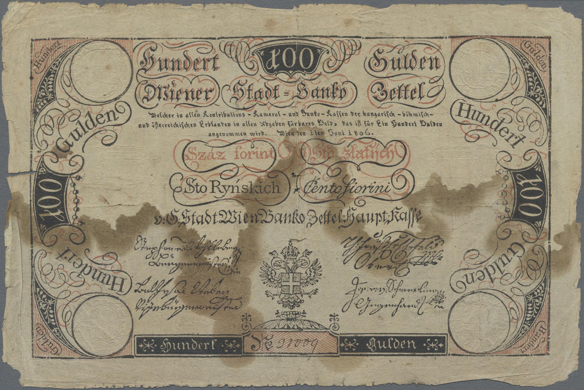 Lot 00025 - Austria / Österreich | Banknoten  -  Auktionshaus Christoph Gärtner GmbH & Co. KG Sale #48 The Banknotes