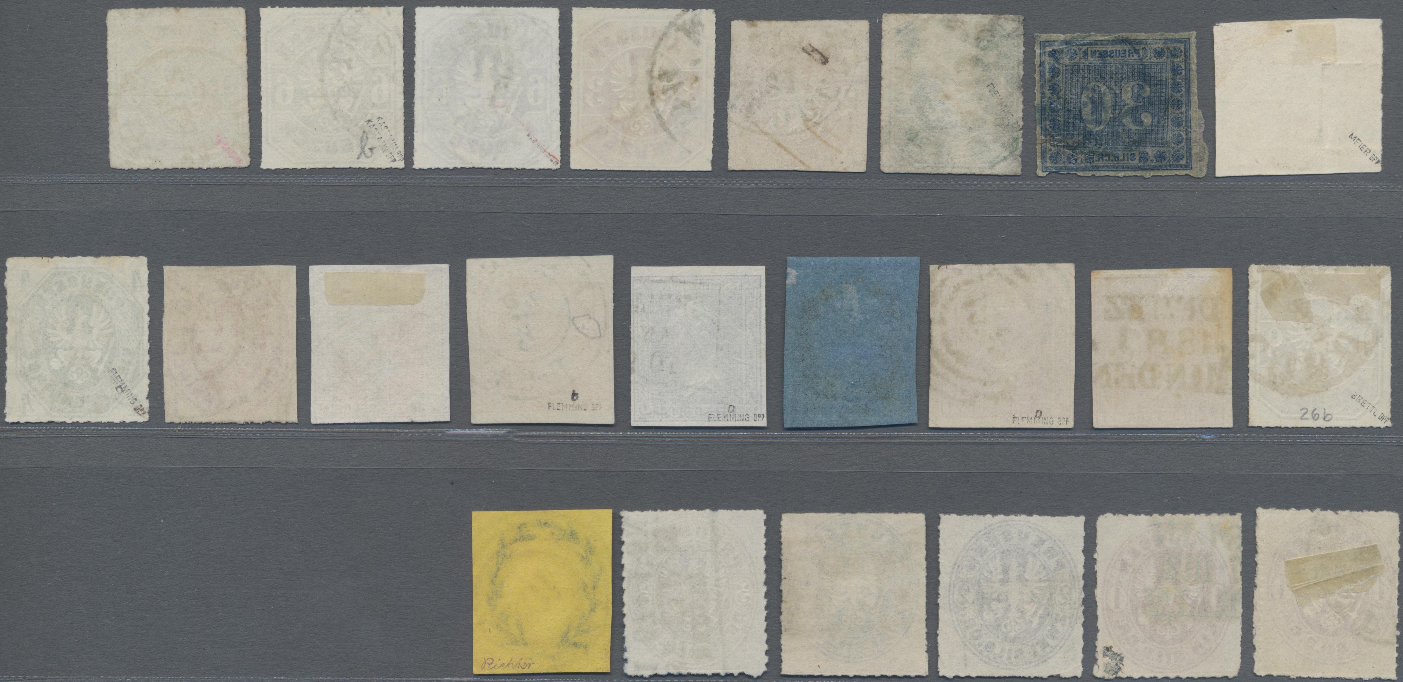 Lot 22886 - Preußen - Marken und Briefe  -  Auktionshaus Christoph Gärtner GmbH & Co. KG 50th Auction Anniversary Auction - Day 7