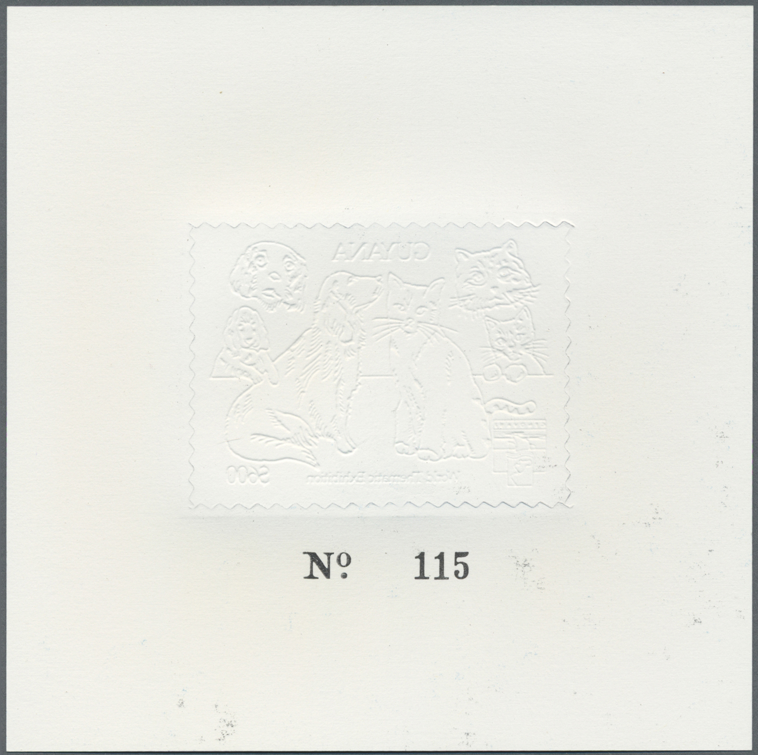 Lot 13830 - guyana  -  Auktionshaus Christoph Gärtner GmbH & Co. KG Single lots Philately Overseas & Europe. Auction #39 Day 4