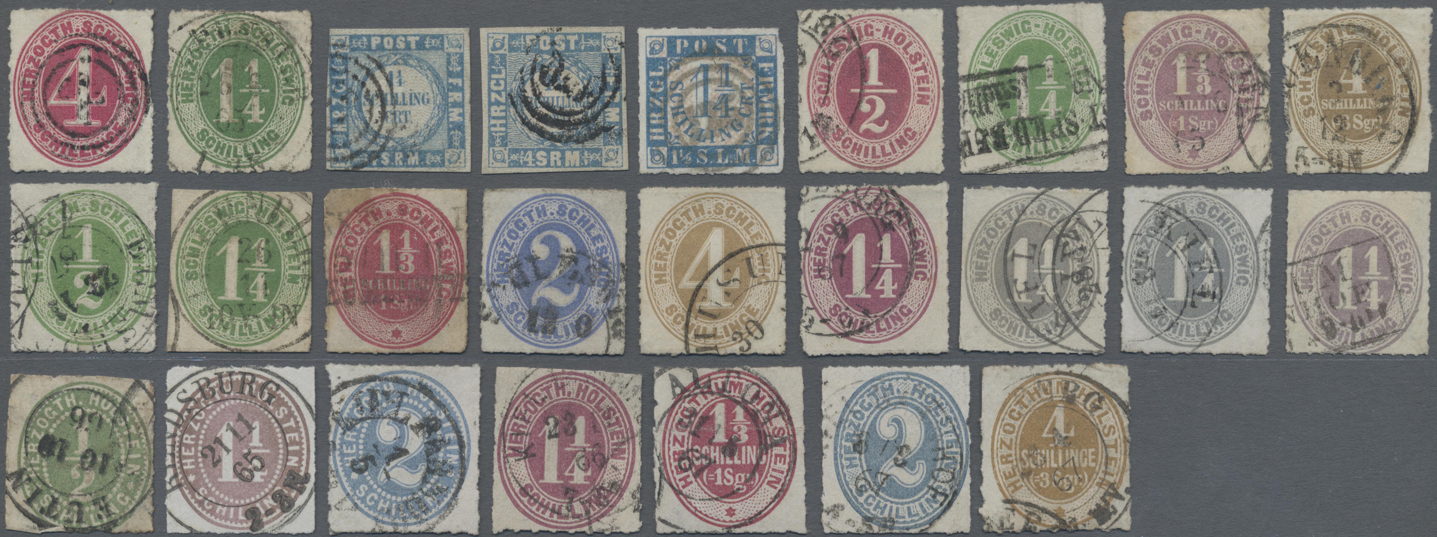 Lot 22910 - Schleswig-Holstein - Marken und Briefe  -  Auktionshaus Christoph Gärtner GmbH & Co. KG 50th Auction Anniversary Auction - Day 7