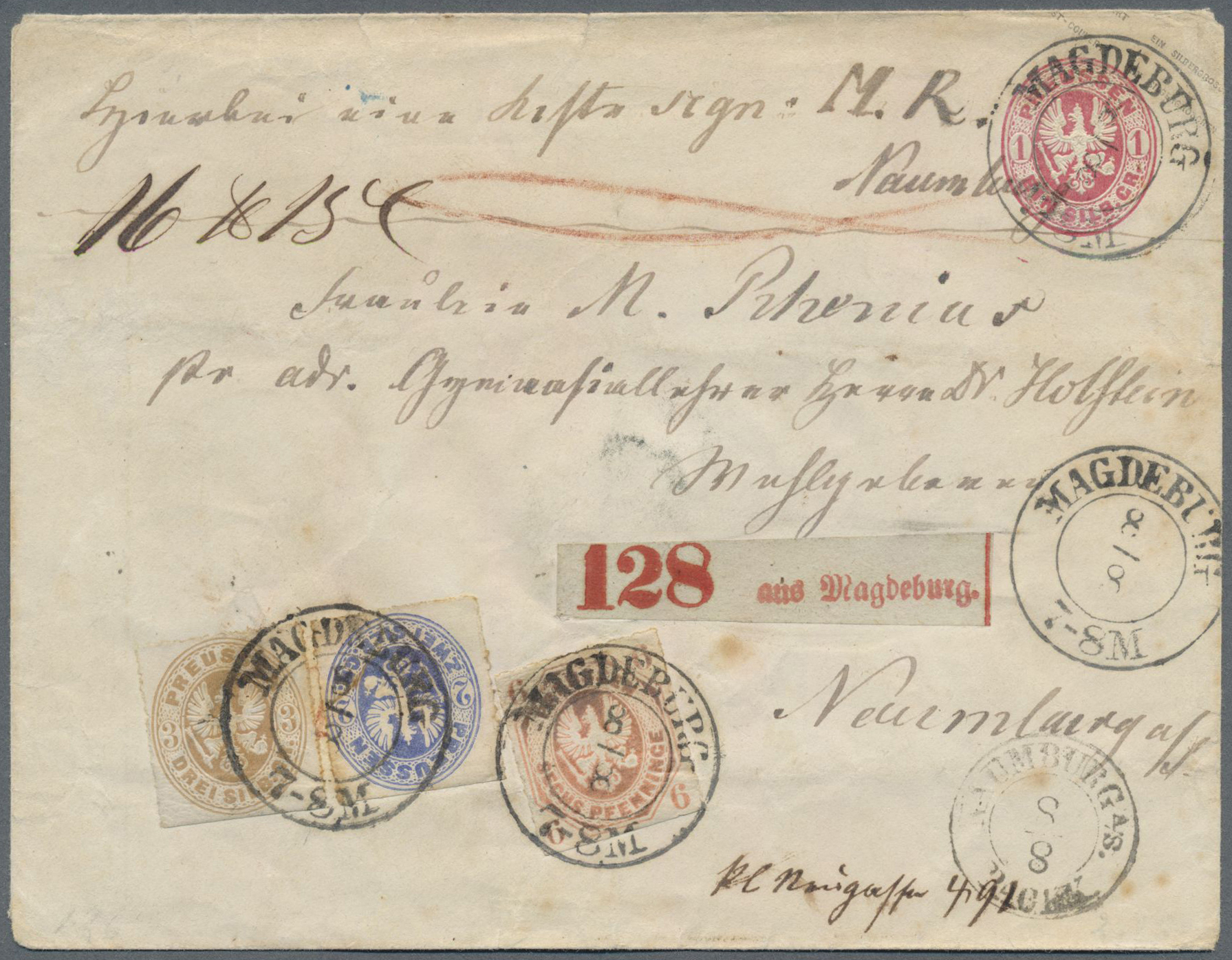 Lot 36454 - Preußen - Ortsstempel  -  Auktionshaus Christoph Gärtner GmbH & Co. KG Collections Germany,  Collections Supplement, Surprise boxes #39 Day 7