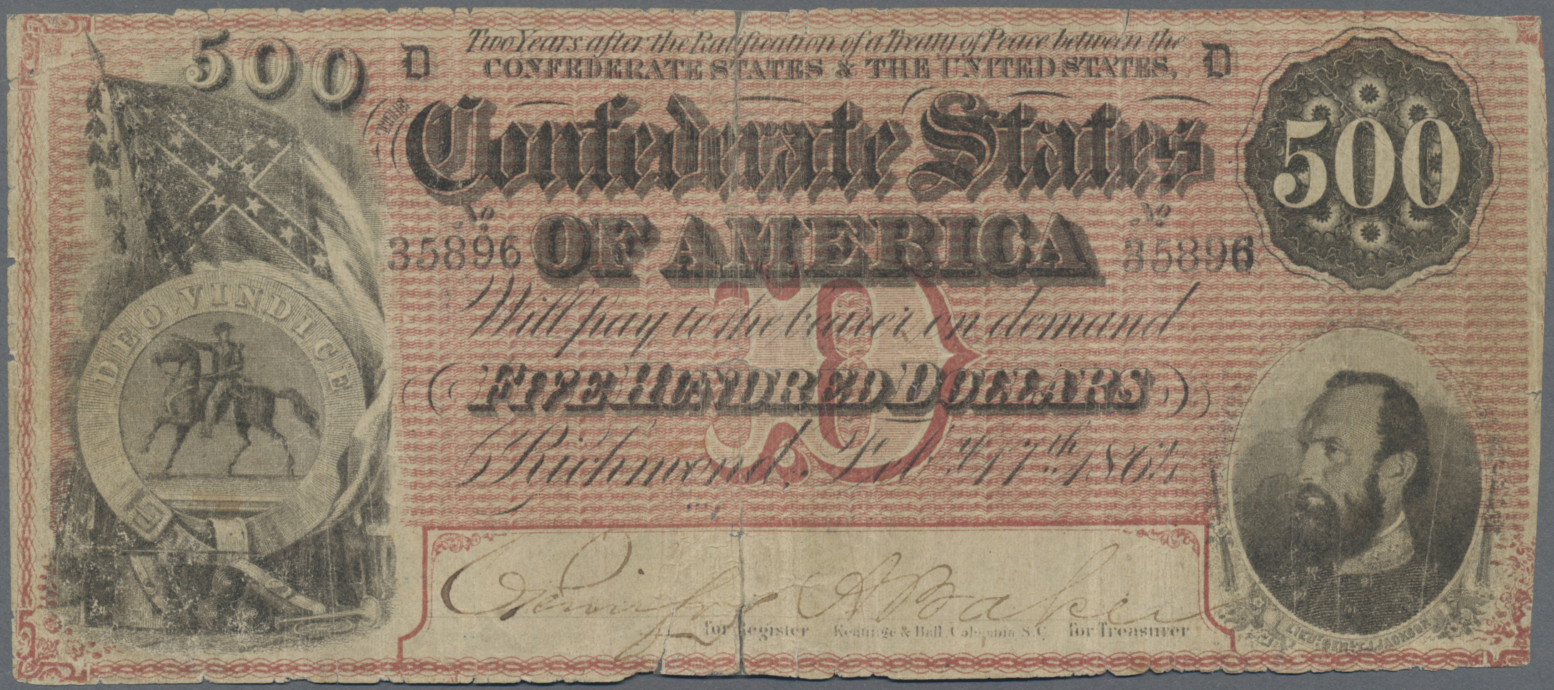 Lot 01129 - United States of America | Banknoten  -  Auktionshaus Christoph Gärtner GmbH & Co. KG Sale #48 The Banknotes
