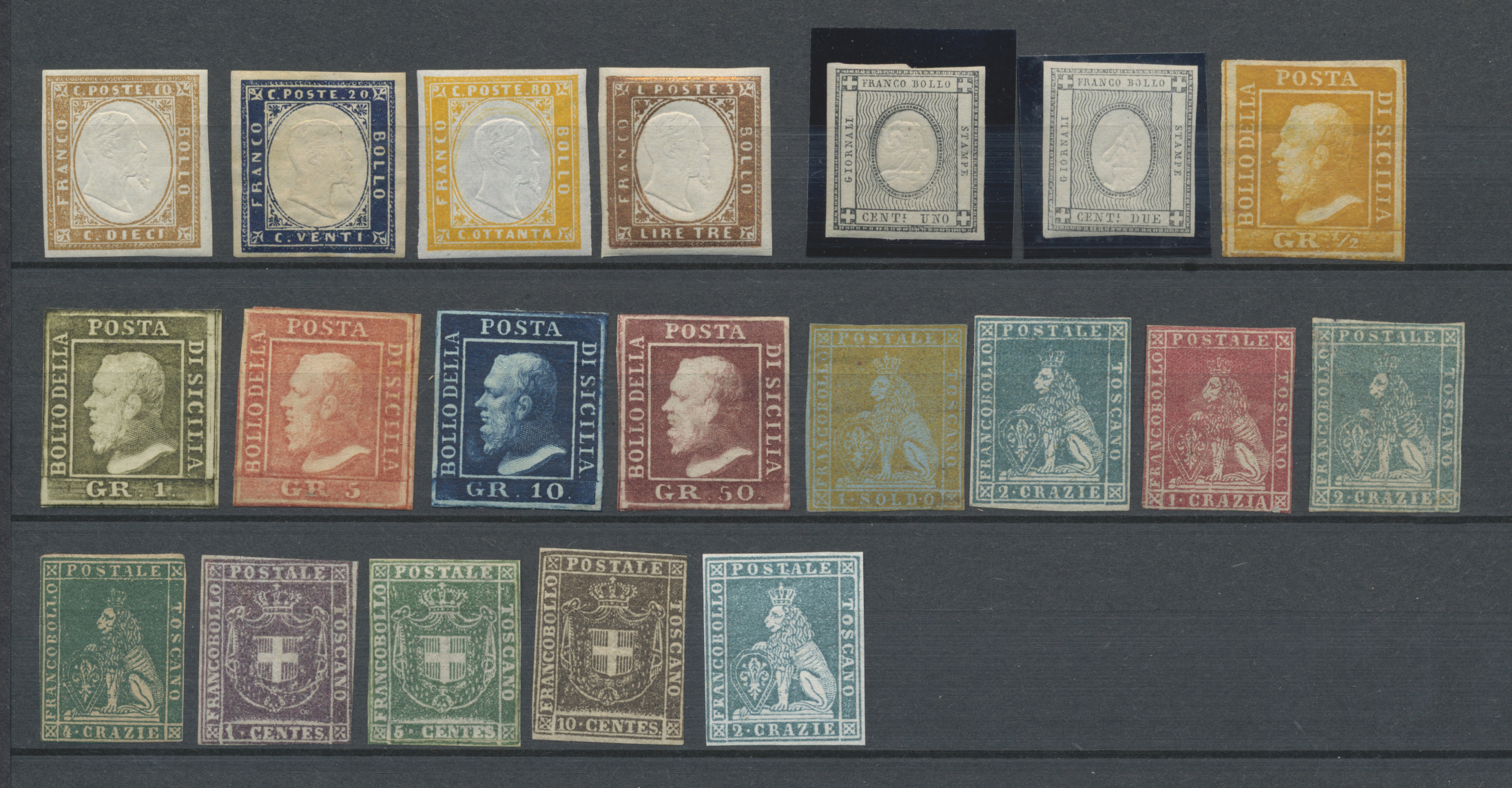 Lot 21919 - altitalien  -  Auktionshaus Christoph Gärtner GmbH & Co. KG Sale #47 Collections: Overseas, Thematics, Europe