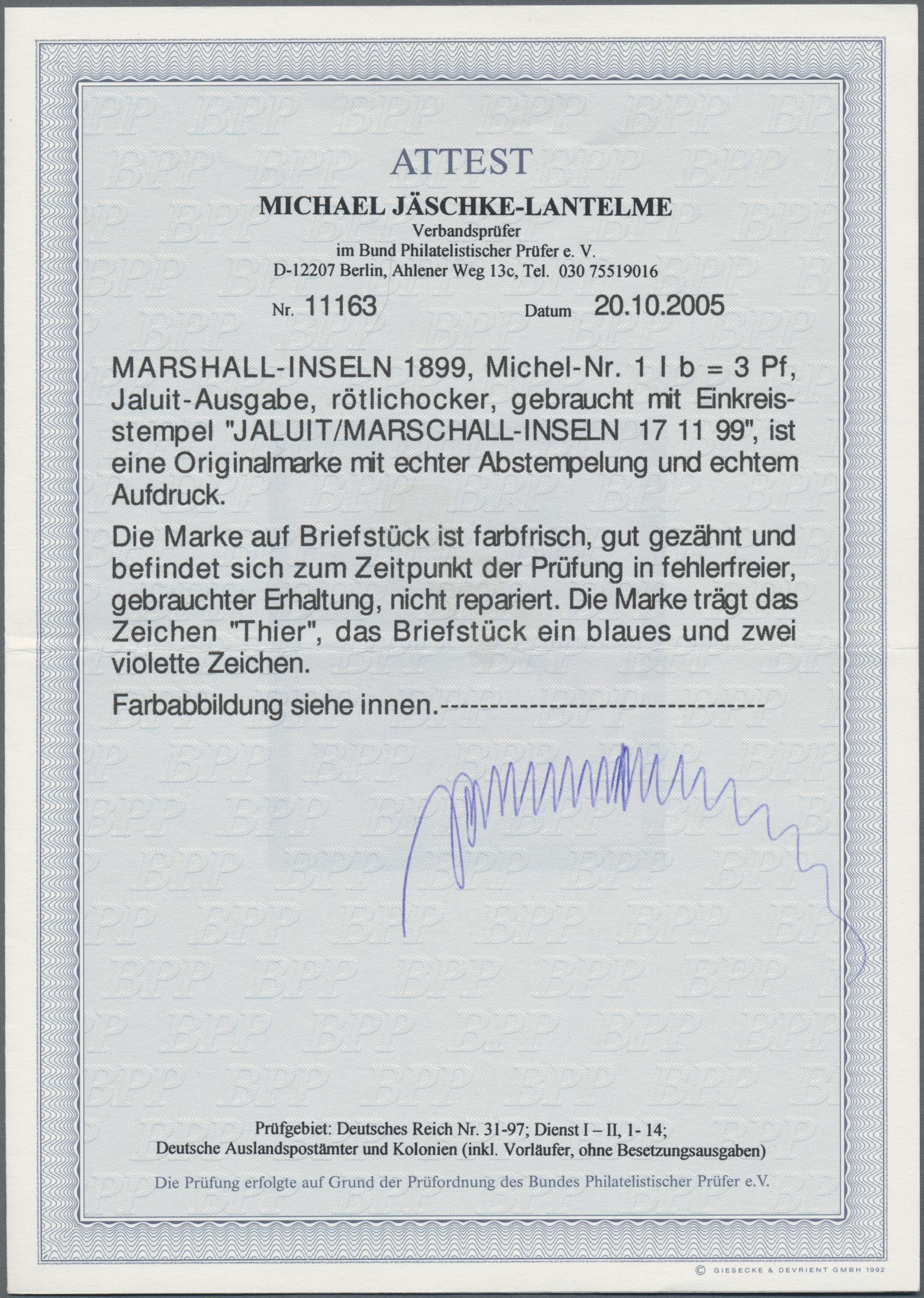 Lot 22825 - Deutsche Kolonien - Marshall-Inseln  -  Auktionshaus Christoph Gärtner GmbH & Co. KG Sale #44 Germany, Picture Post cards