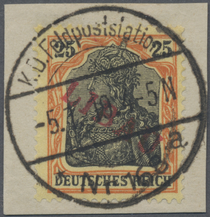 Lot 22965 - Deutsche Besetzung I. WK: Postgebiet Ober. Ost - Libau  -  Auktionshaus Christoph Gärtner GmbH & Co. KG Sale #44 Germany, Picture Post cards