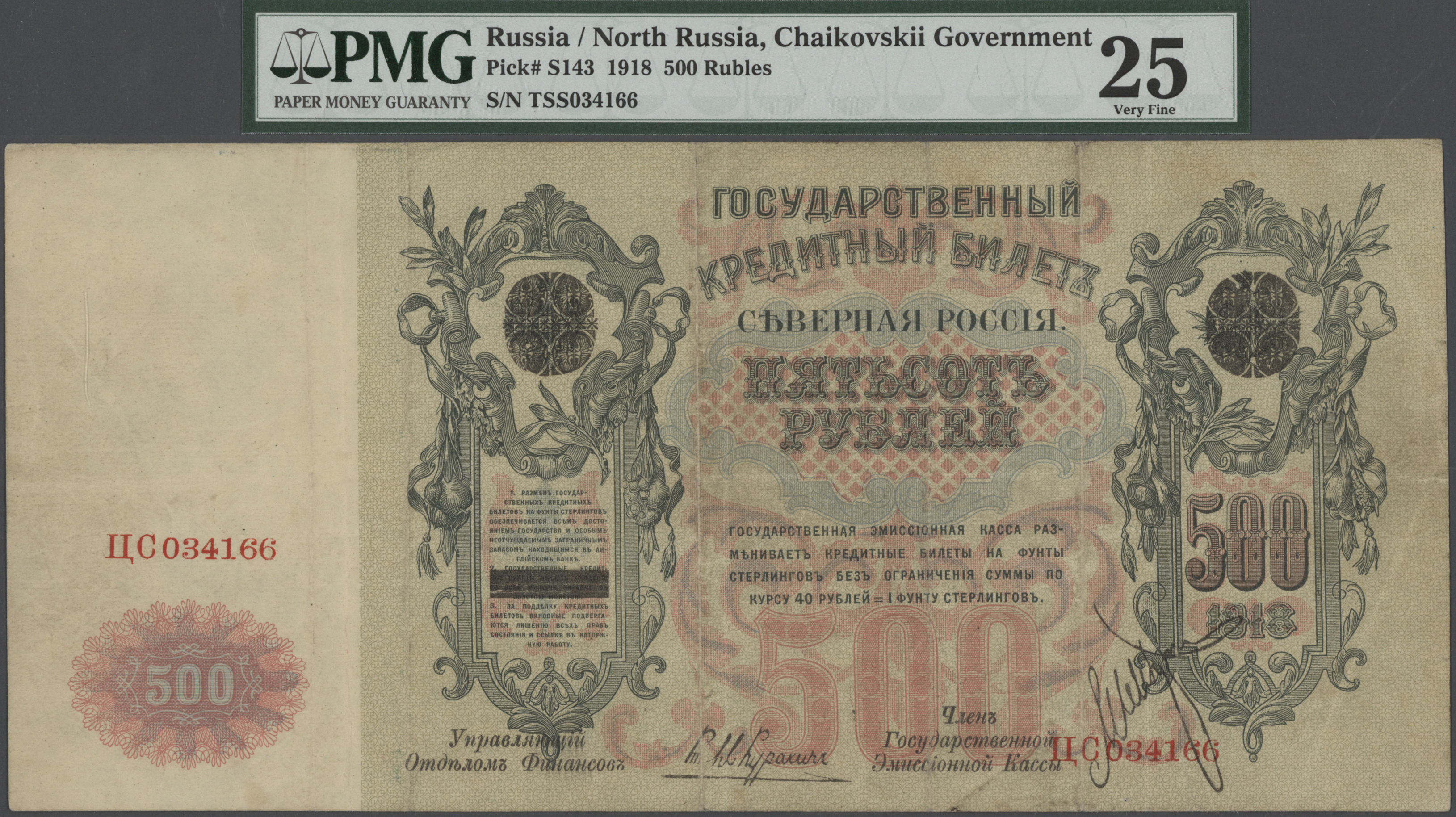 Lot 00659 - Russia / Russland | Banknoten  -  Auktionshaus Christoph Gärtner GmbH & Co. KG Sale #48 The Banknotes
