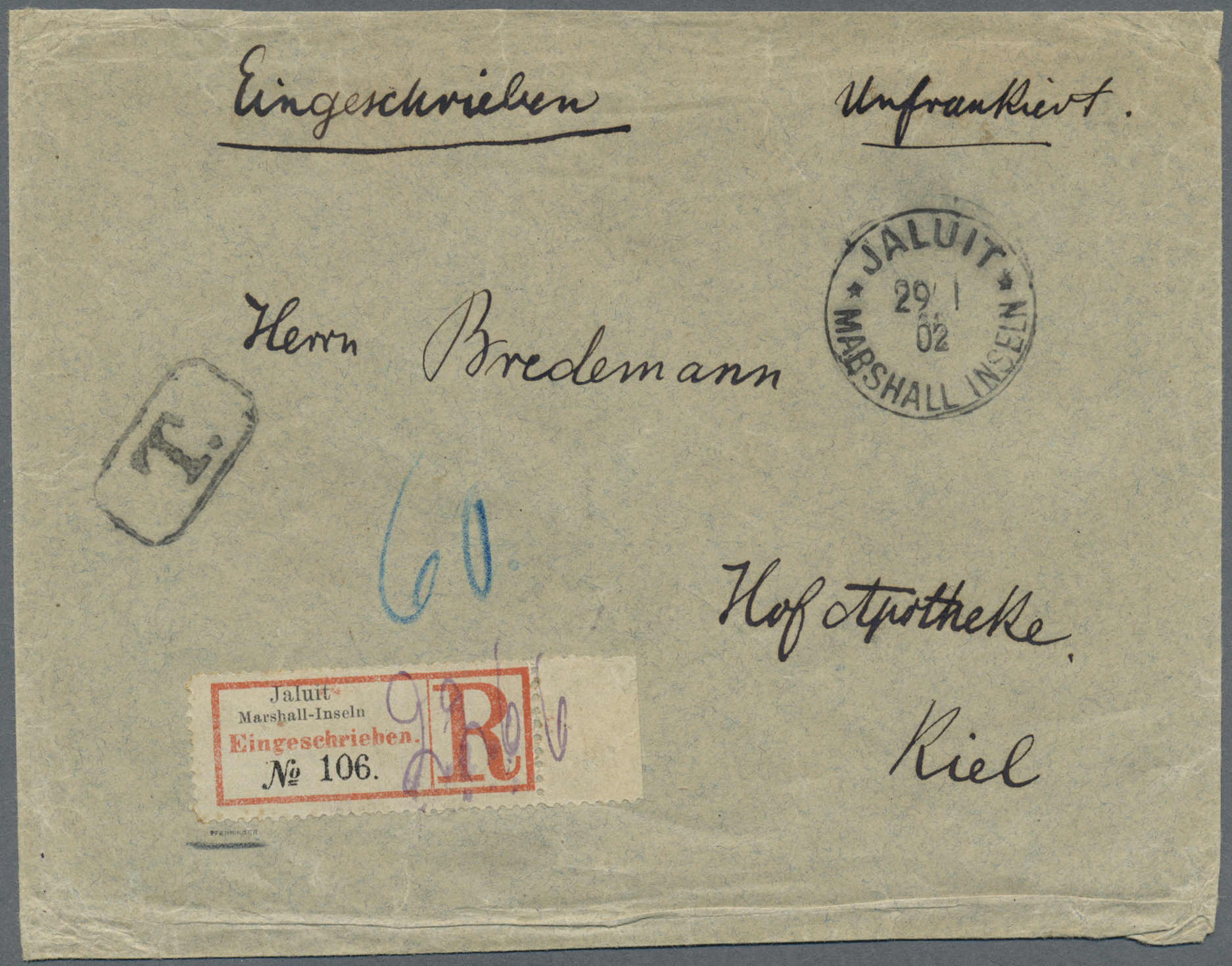 Lot 18783 - Deutsche Kolonien - Marshall-Inseln  -  Auktionshaus Christoph Gärtner GmbH & Co. KG Auction #40 Germany, Picture Post Cards, Collections Overseas, Thematics