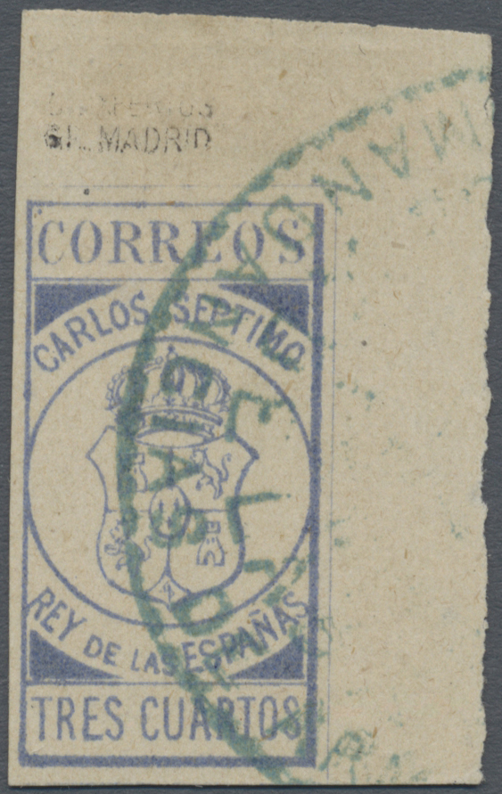 Lot 1698 - Spanien - Carlistische Post  -  Auktionshaus Christoph Gärtner GmbH & Co. KG Auction #41 Special auction part two