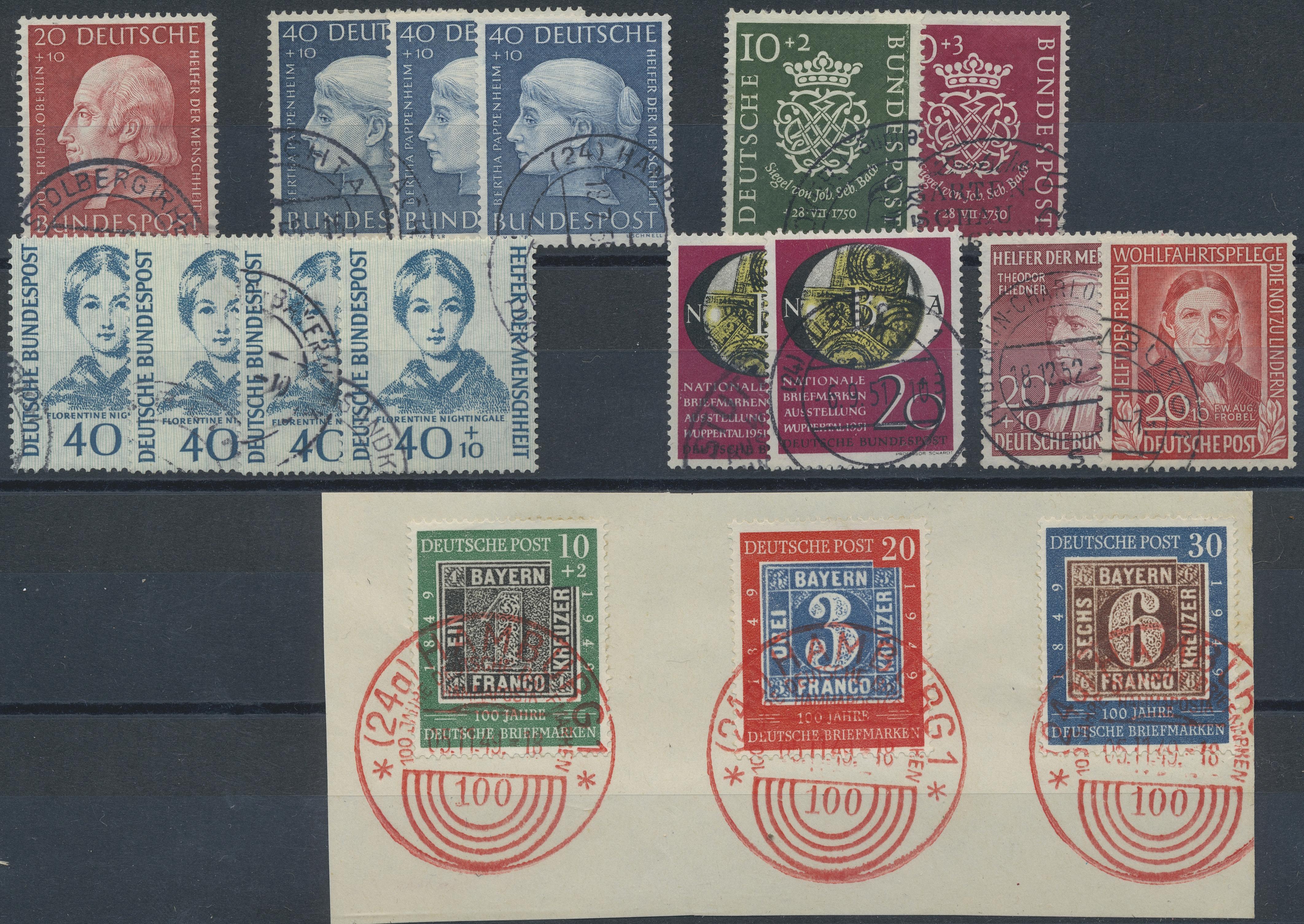 Lot 37556 - bundesrepublik deutschland  -  Auktionshaus Christoph Gärtner GmbH & Co. KG Sale #44 Collections Germany