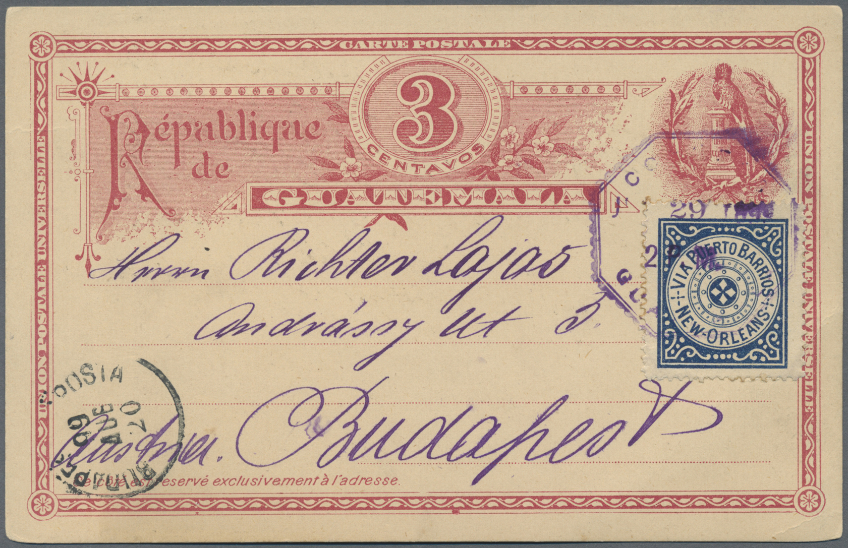 Lot 13824 - guatemala  -  Auktionshaus Christoph Gärtner GmbH & Co. KG Single lots Philately Overseas & Europe. Auction #39 Day 4