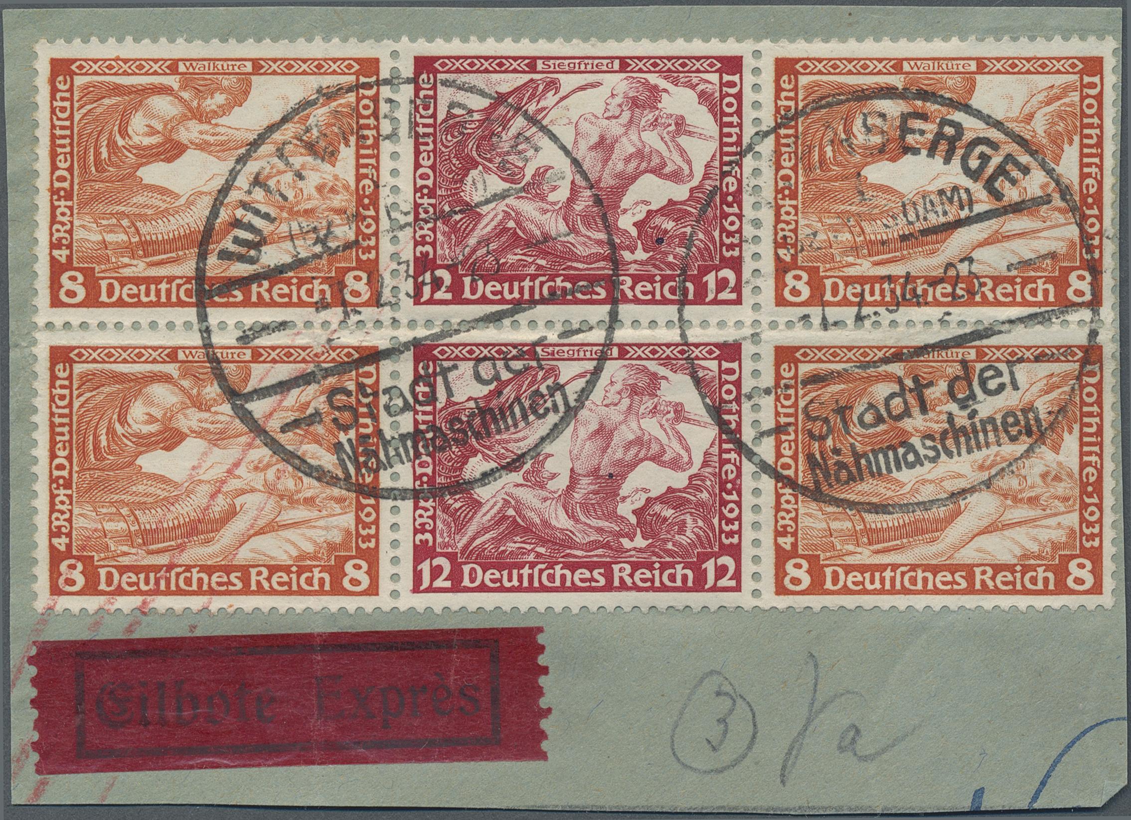 Lot 36774 - Deutsches Reich - Zusammendrucke  -  Auktionshaus Christoph Gärtner GmbH & Co. KG Sale #44 Collections Germany