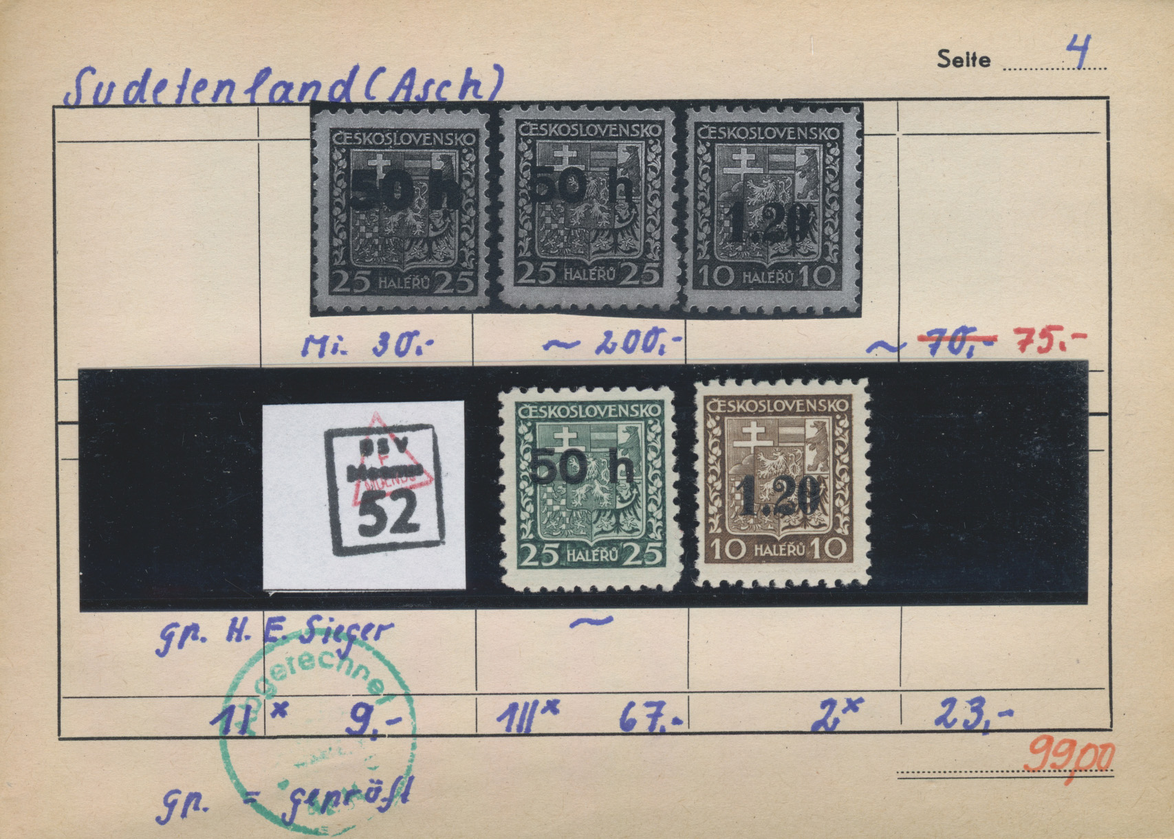Lot 37080 - sudetenland  -  Auktionshaus Christoph Gärtner GmbH & Co. KG Sale #44 Collections Germany
