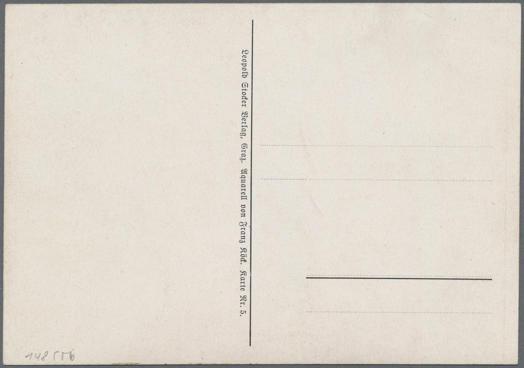 Lot 18351 - Ansichtskarten: Propaganda  -  Auktionshaus Christoph Gärtner GmbH & Co. KG Sale #47 Single lots: Germany, Picture Postcards
