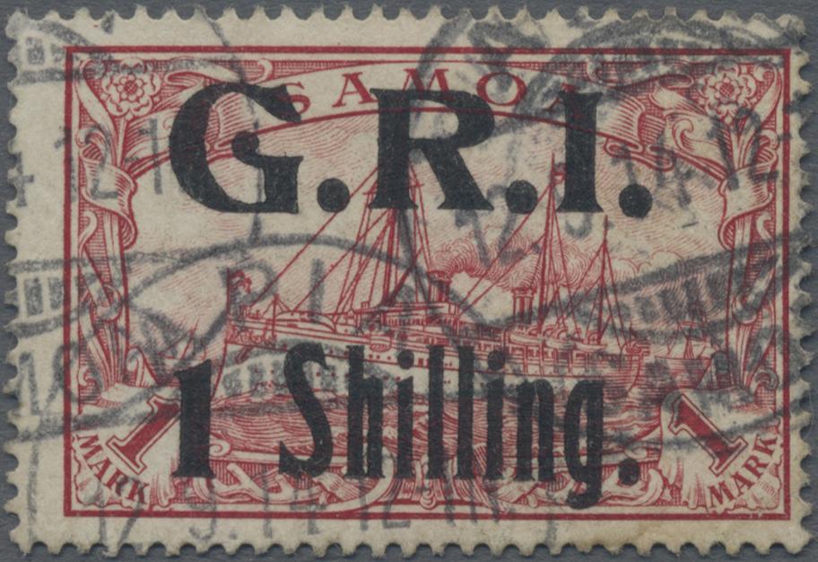 Lot 11494 - Deutsche Kolonien - Samoa - Britische Besetzung  -  Auktionshaus Christoph Gärtner GmbH & Co. KG Sale #48 The Single Lots Philatelie