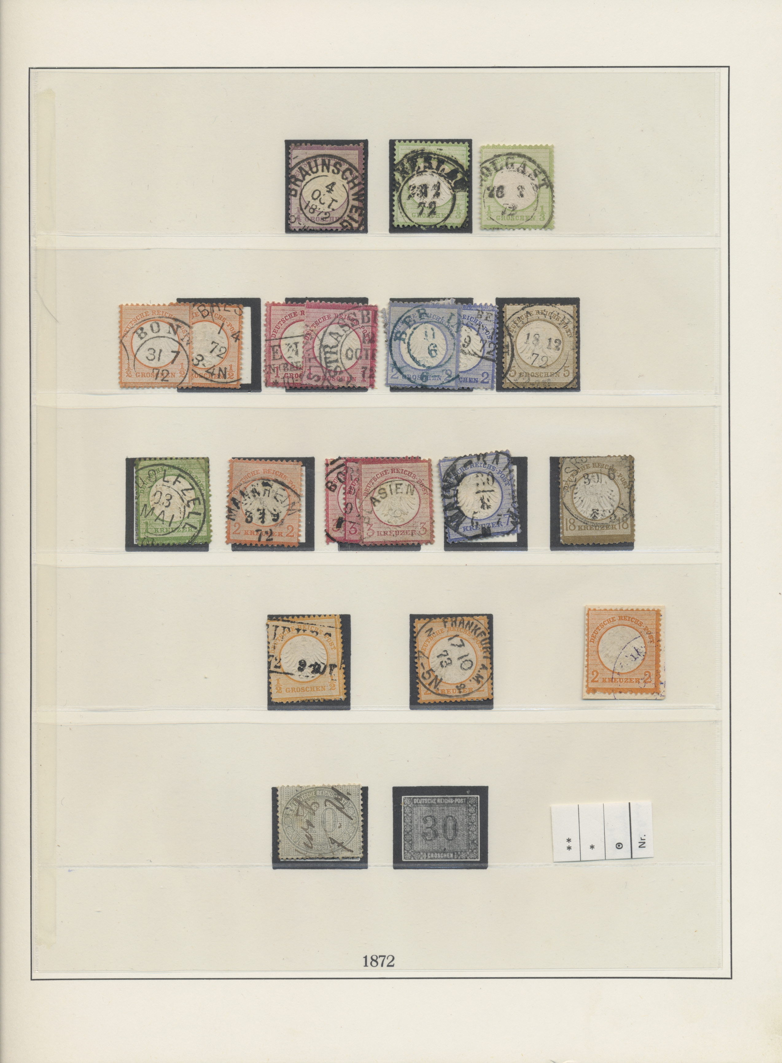 Lot 36427 - Deutsches Reich  -  Auktionshaus Christoph Gärtner GmbH & Co. KG Sale #44 Collections Germany