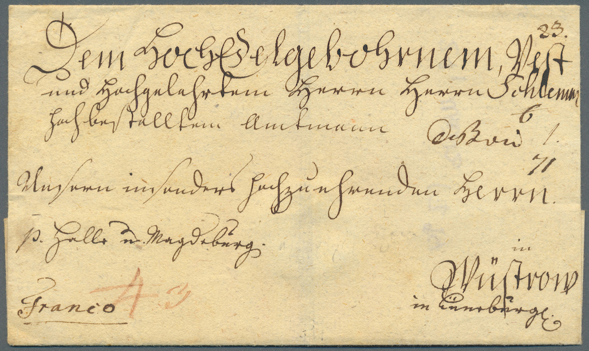 Lot 36451 - Preußen - Stempel  -  Auktionshaus Christoph Gärtner GmbH & Co. KG Collections Germany,  Collections Supplement, Surprise boxes #39 Day 7