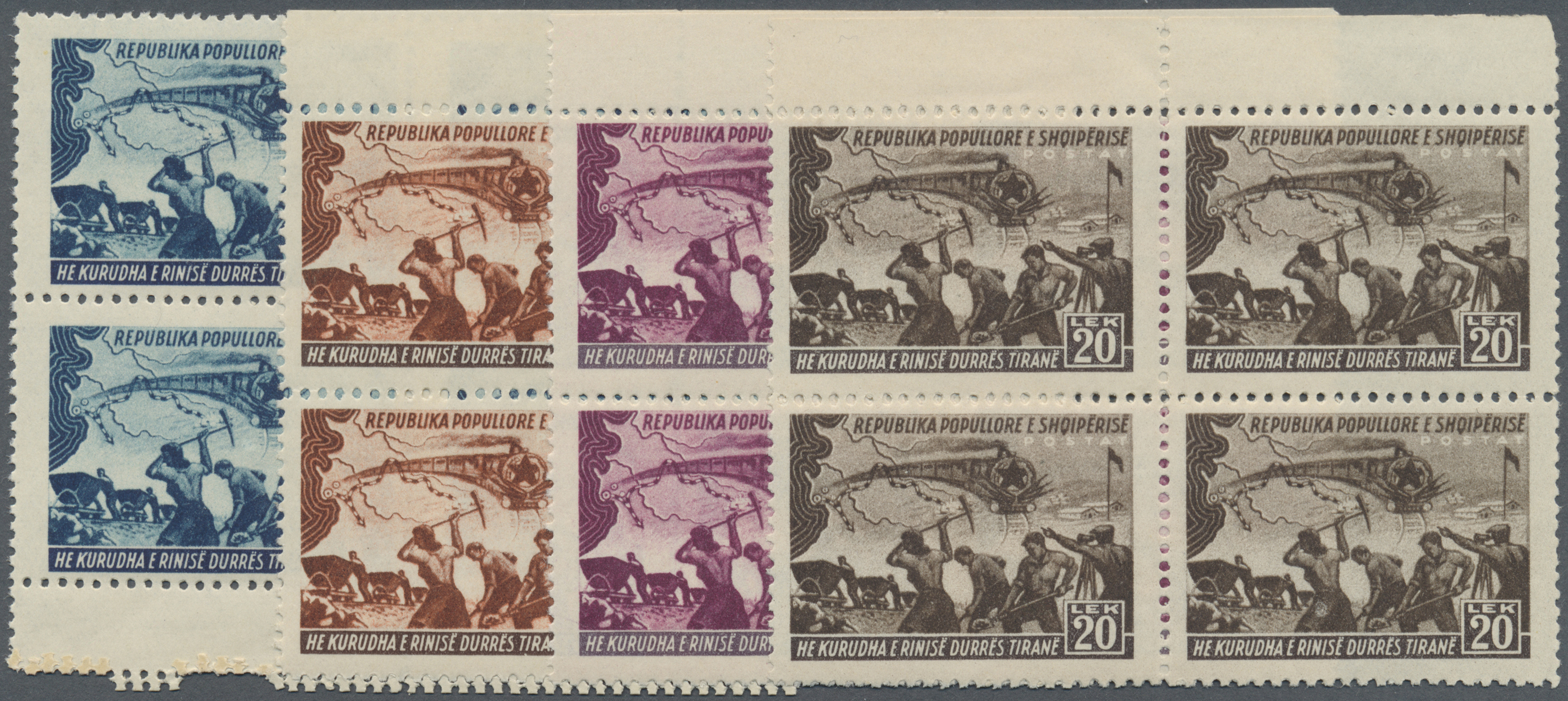 Lot 15539 - albanien  -  Auktionshaus Christoph Gärtner GmbH & Co. KG Single lots Philately Overseas & Europe. Auction #39 Day 4