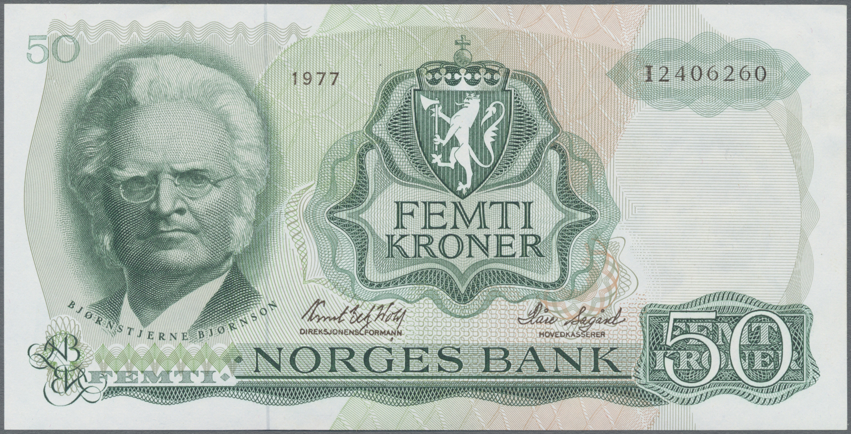 Lot 00577 - Norway / Norwegen | Banknoten  -  Auktionshaus Christoph Gärtner GmbH & Co. KG Sale #48 The Banknotes