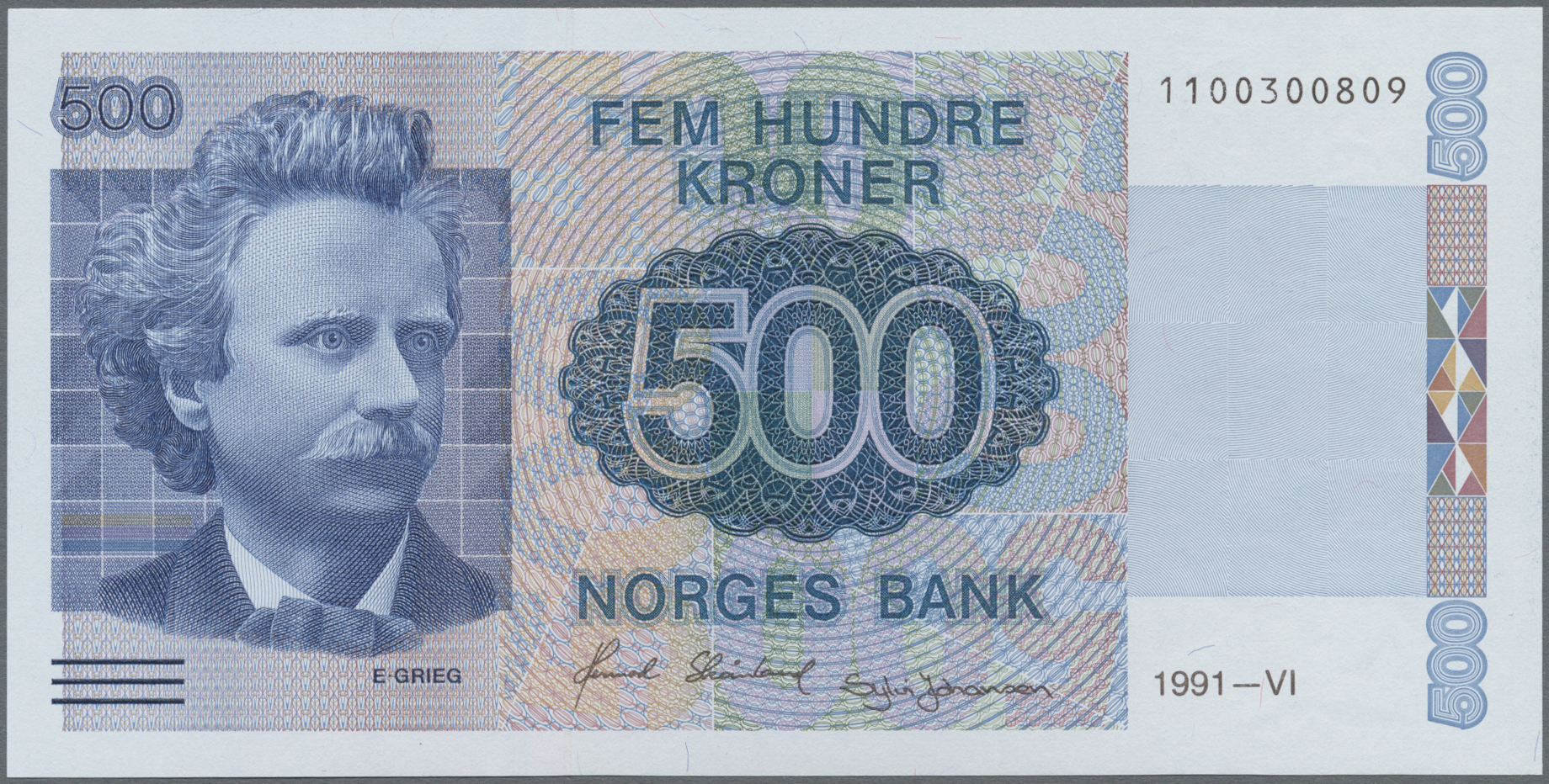 Lot 00579 - Norway / Norwegen | Banknoten  -  Auktionshaus Christoph Gärtner GmbH & Co. KG Sale #48 The Banknotes