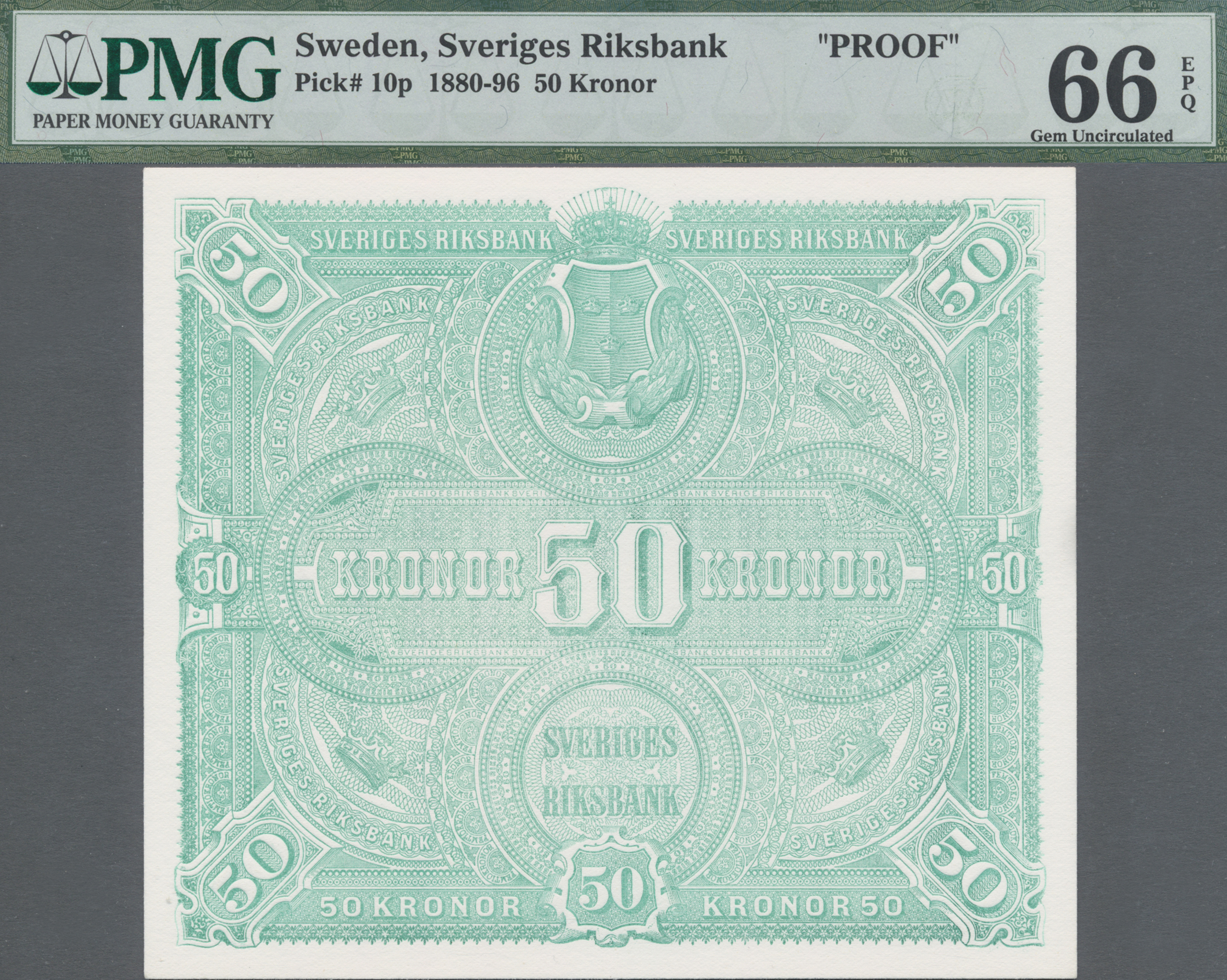 Lot 00859 - Sweden / Schweden | Banknoten  -  Auktionshaus Christoph Gärtner GmbH & Co. KG Sale #48 The Banknotes