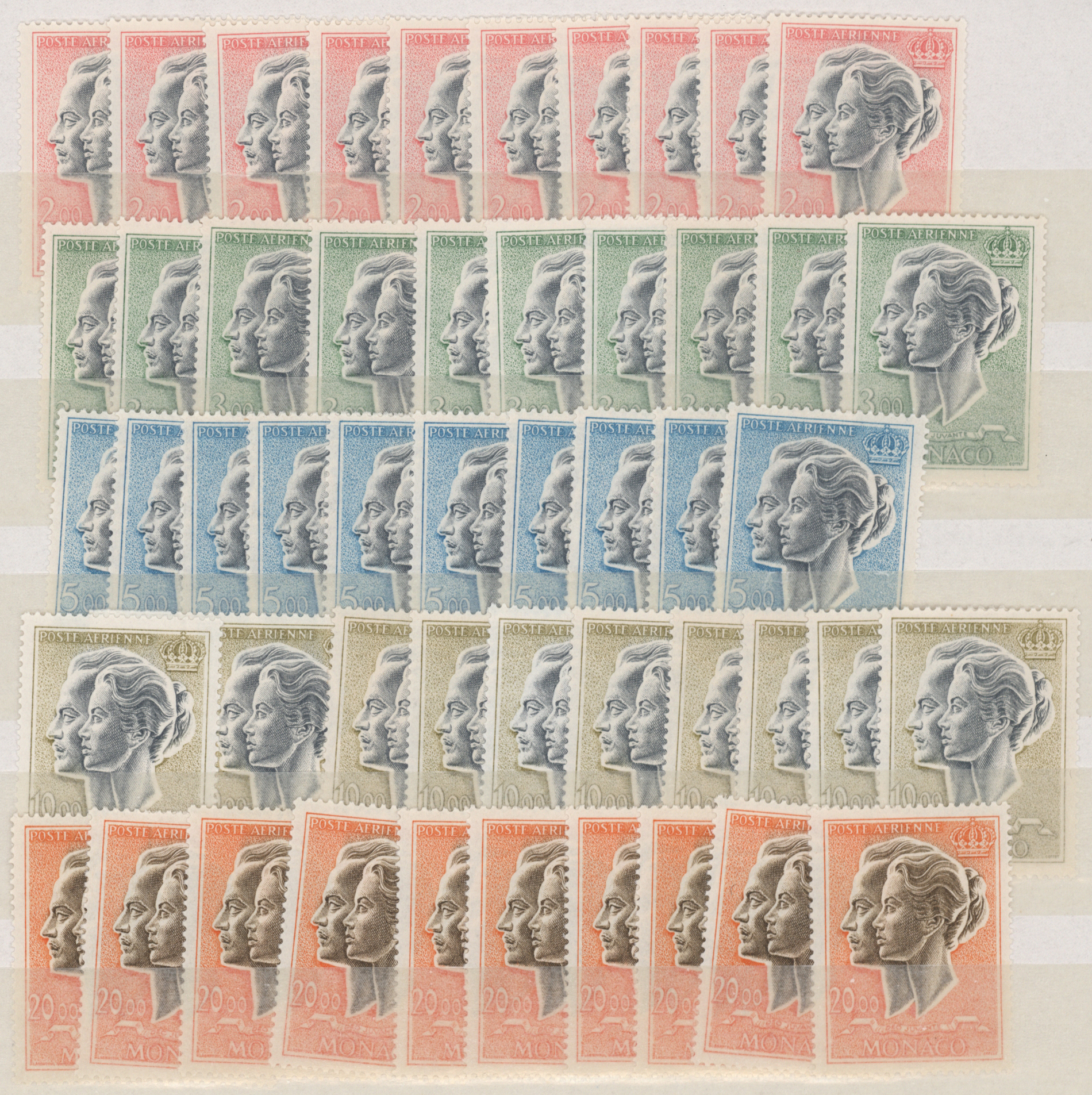 Lot 17862 - Monaco  -  Auktionshaus Christoph Gärtner GmbH & Co. KG Sale #48 collections Overseas  Airmail / Ship mail & Thematics