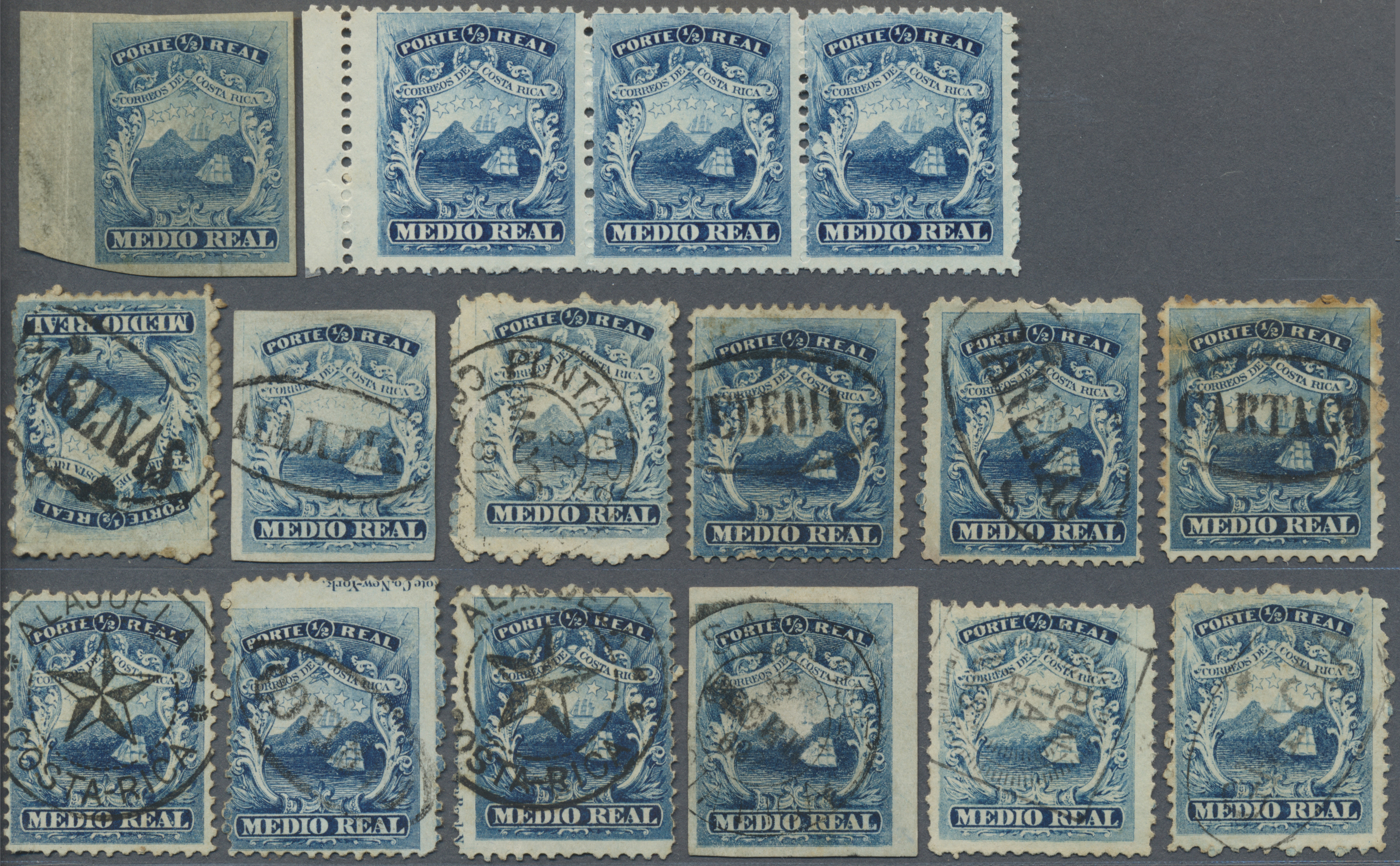 Lot 598 - Costa Rica  -  Auktionshaus Christoph Gärtner GmbH & Co. KG Auction #41 Special auction part one