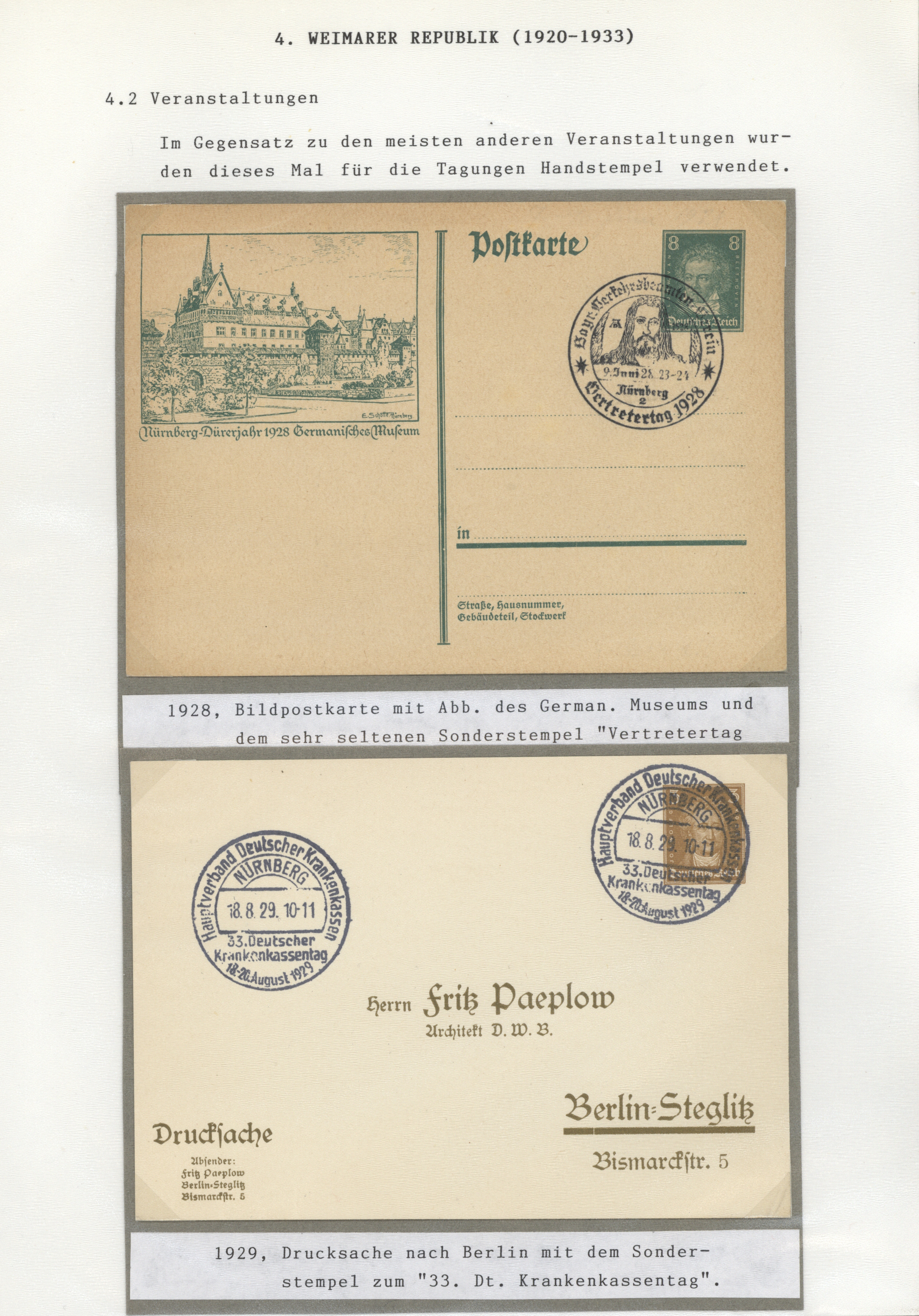 Lot 36504 - Deutsches Reich  -  Auktionshaus Christoph Gärtner GmbH & Co. KG Sale #44 Collections Germany
