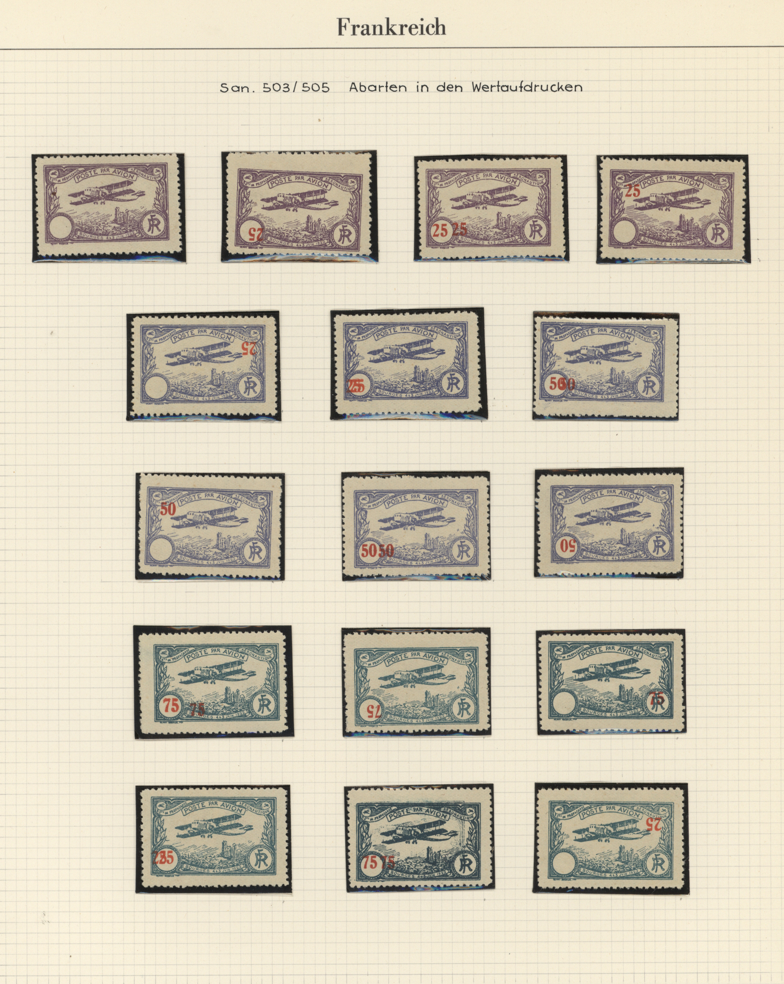 Lot 30519 - flugpost europa  -  Auktionshaus Christoph Gärtner GmbH & Co. KG Sale #44 Collections Overseas, Europe