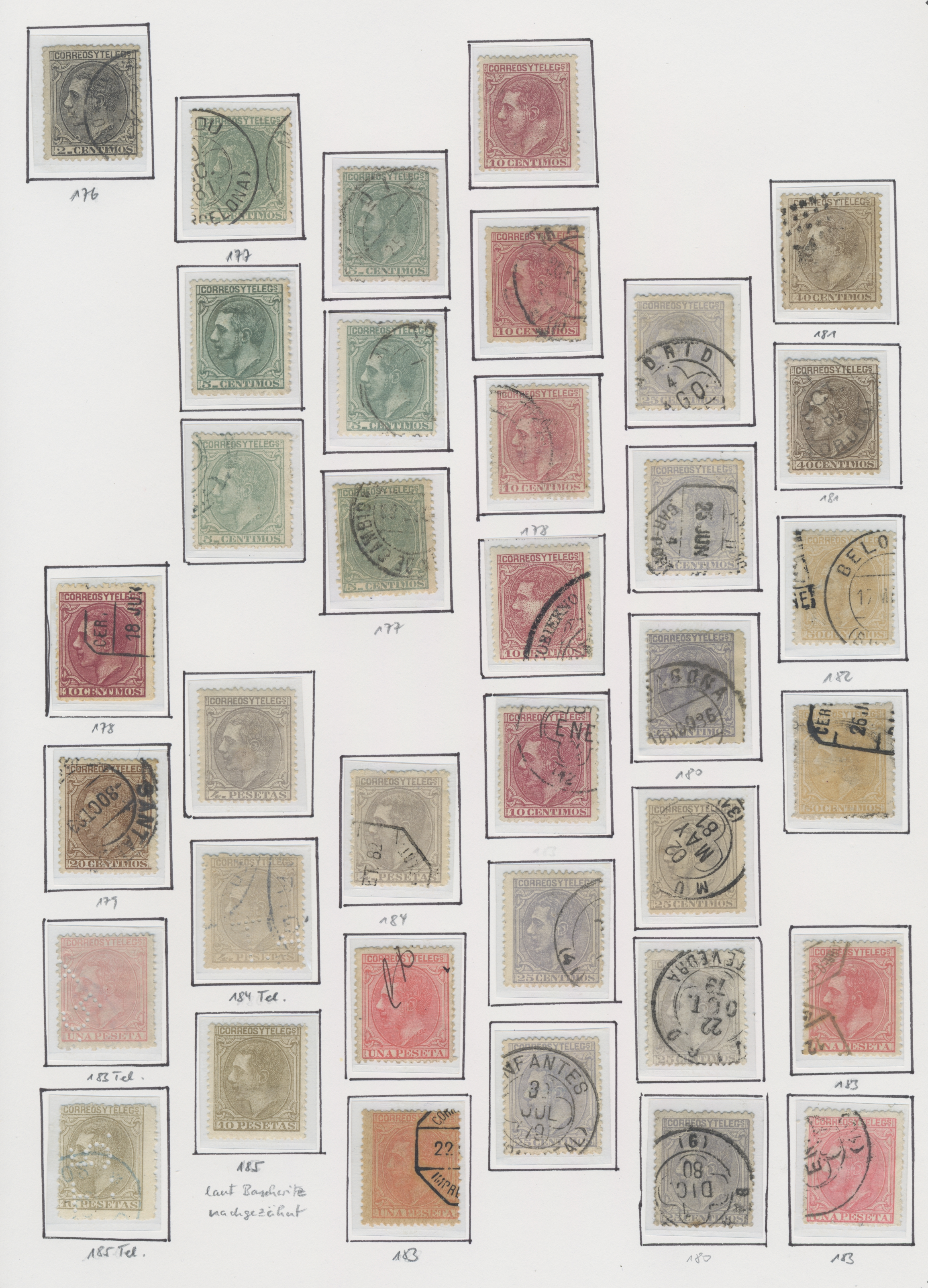Lot 19169 - spanien  -  Auktionshaus Christoph Gärtner GmbH & Co. KG Sale #48 collections Overseas  Airmail / Ship mail & Thematics
