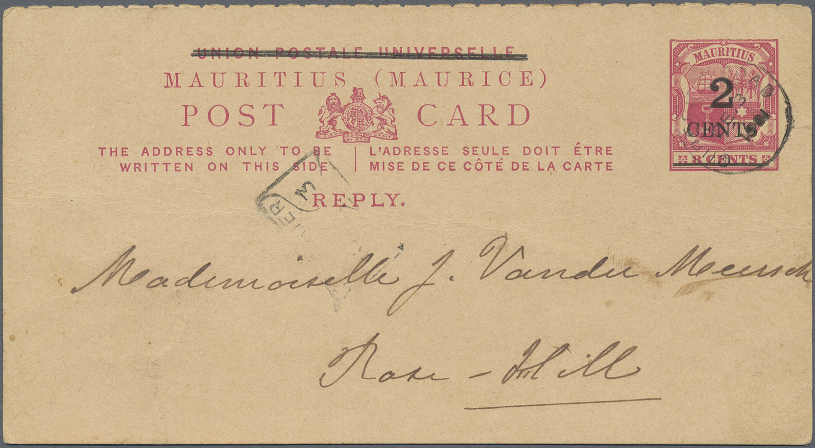 Lot 21479 - Mauritius  -  Auktionshaus Christoph Gärtner GmbH & Co. KG Sale #46 Collections Worldwide