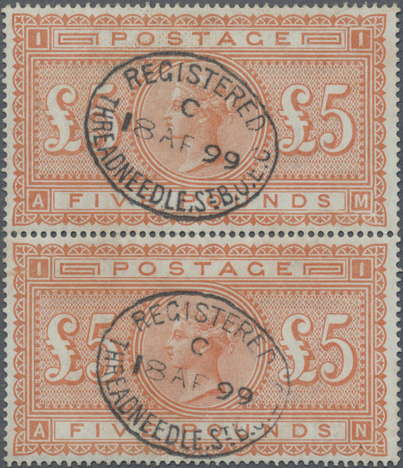 Lot 00002 - großbritannien  -  Auktionshaus Christoph Gärtner GmbH & Co. KG Intenational Rarities and contains lots from the collection of Peter Zgonc