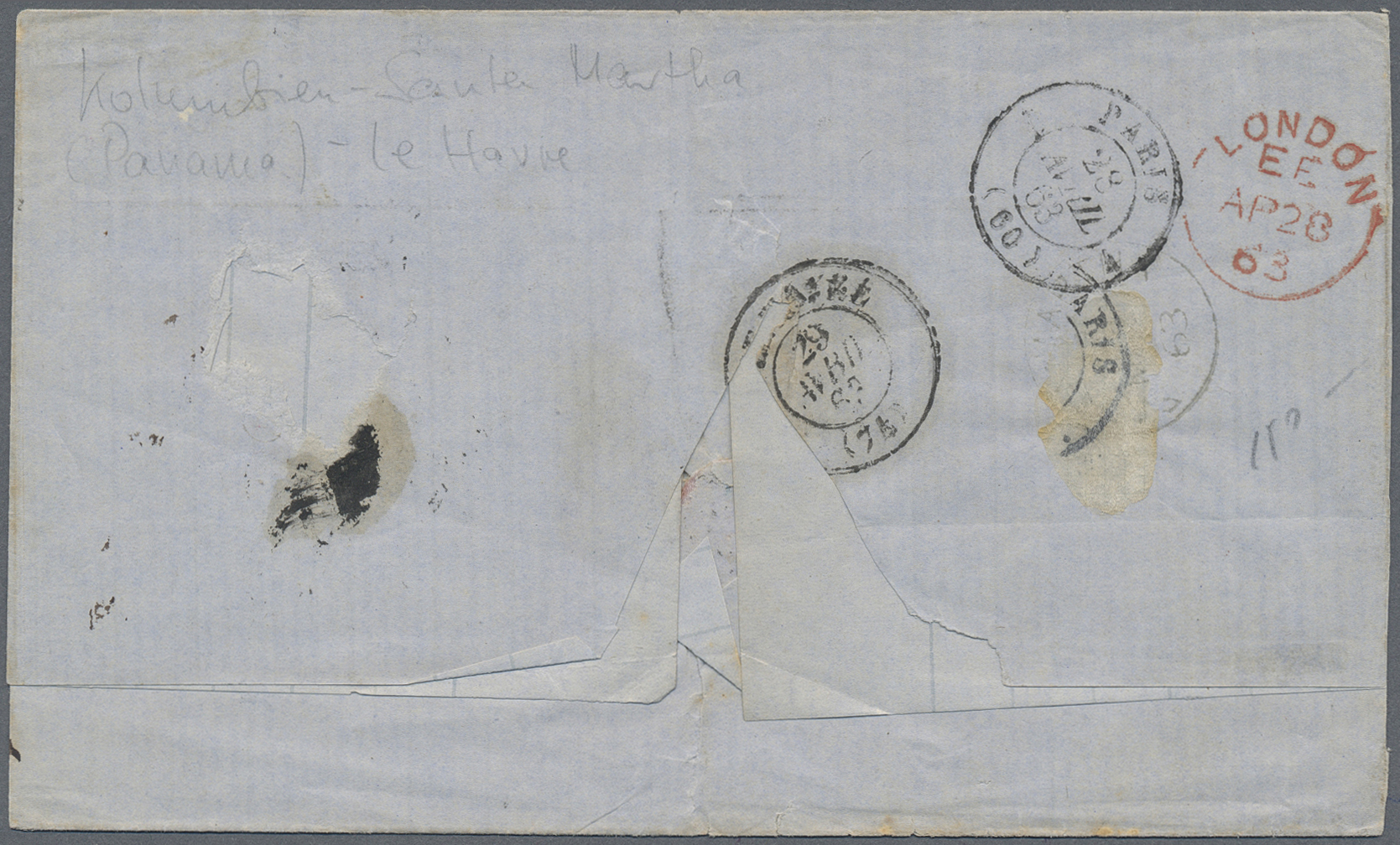 Lot 13928 - kolumbien  -  Auktionshaus Christoph Gärtner GmbH & Co. KG Single lots Philately Overseas & Europe. Auction #39 Day 4