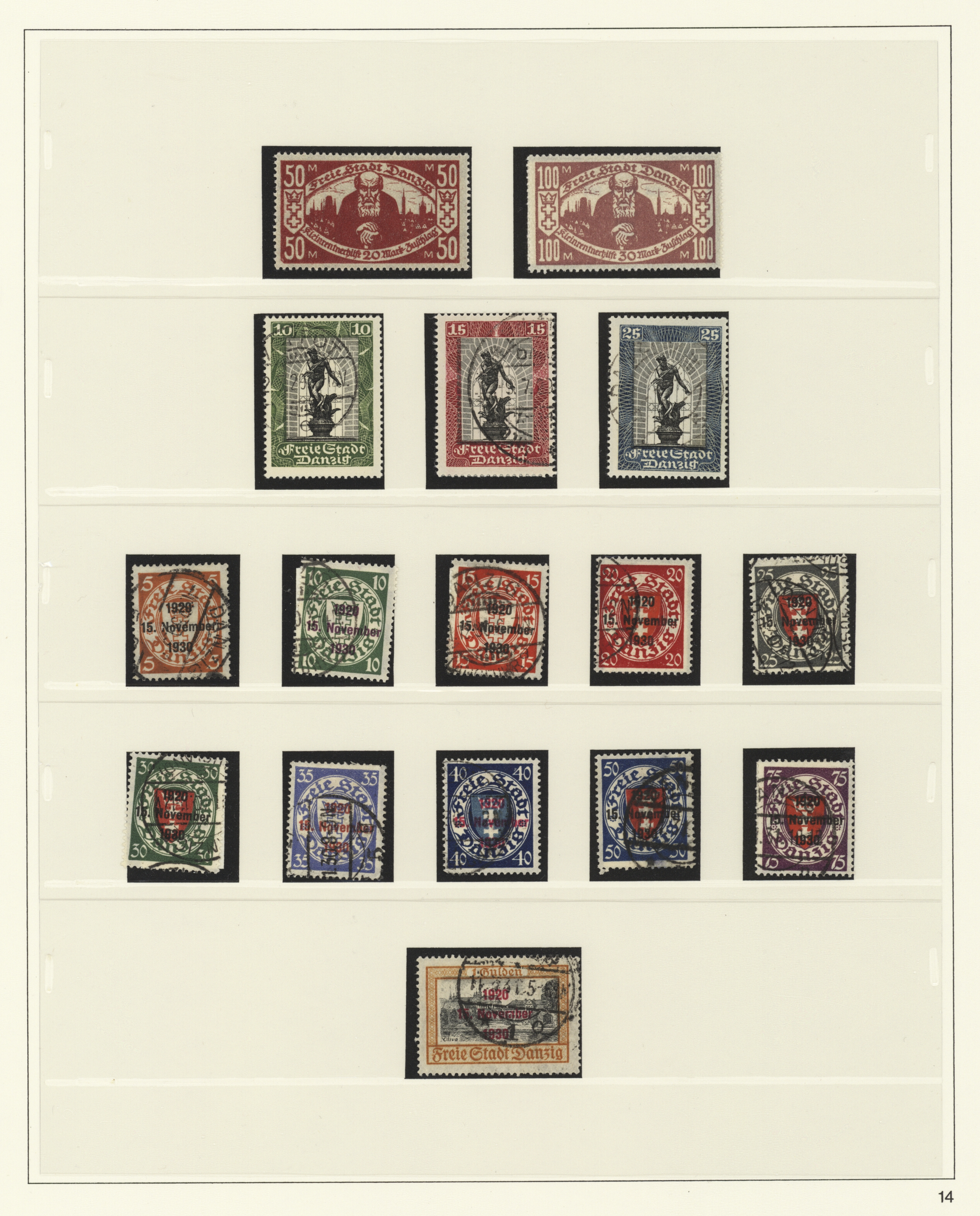 Lot 37057 - danzig  -  Auktionshaus Christoph Gärtner GmbH & Co. KG Sale #44 Collections Germany