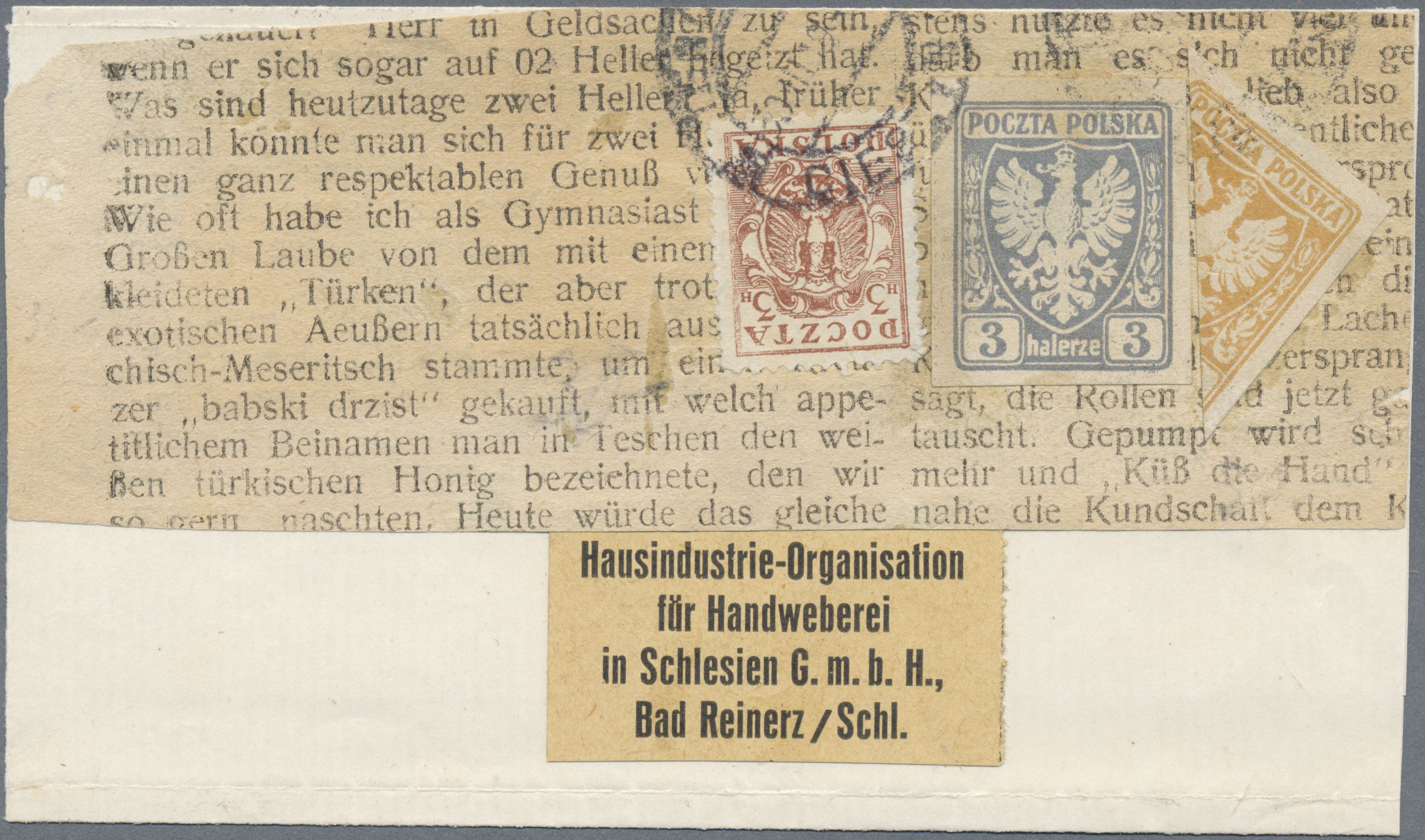 Lot 18331 - polen  -  Auktionshaus Christoph Gärtner GmbH & Co. KG Single lots Philately Overseas & Europe. Auction #39 Day 4